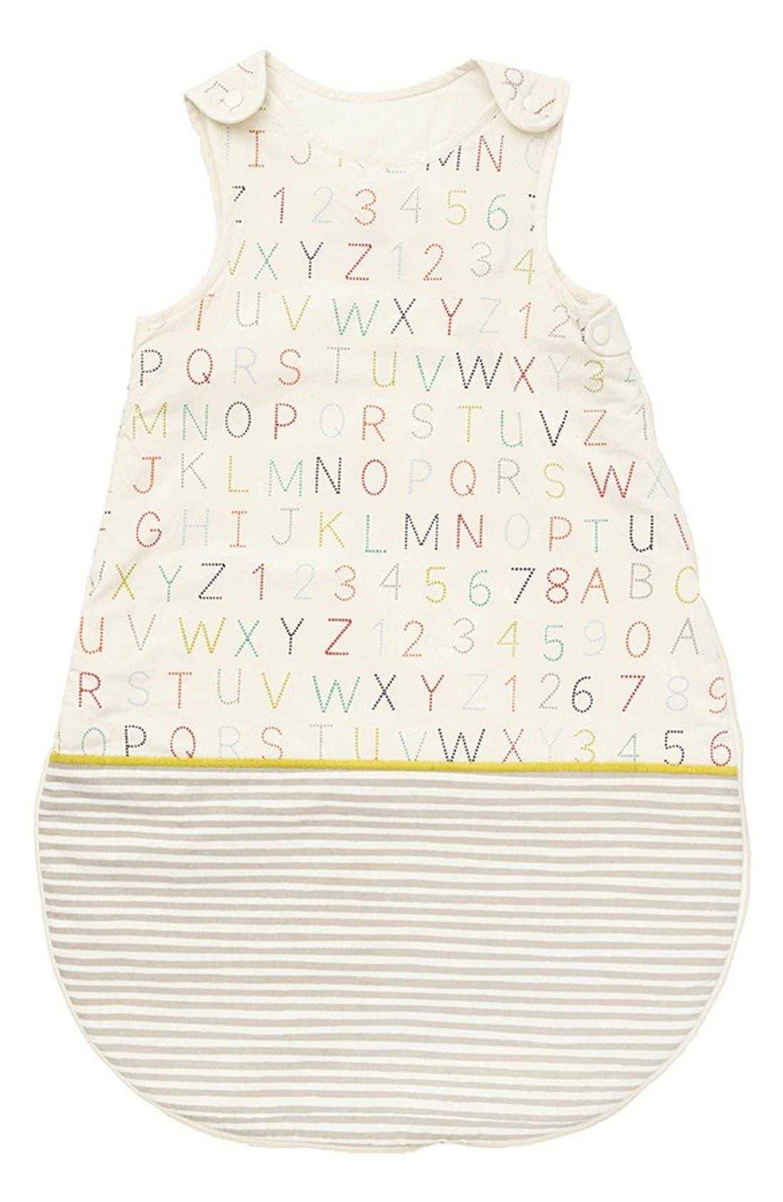 Cotton Bunting Bag,                             Main thumbnail 1, color,                             ALPHABET