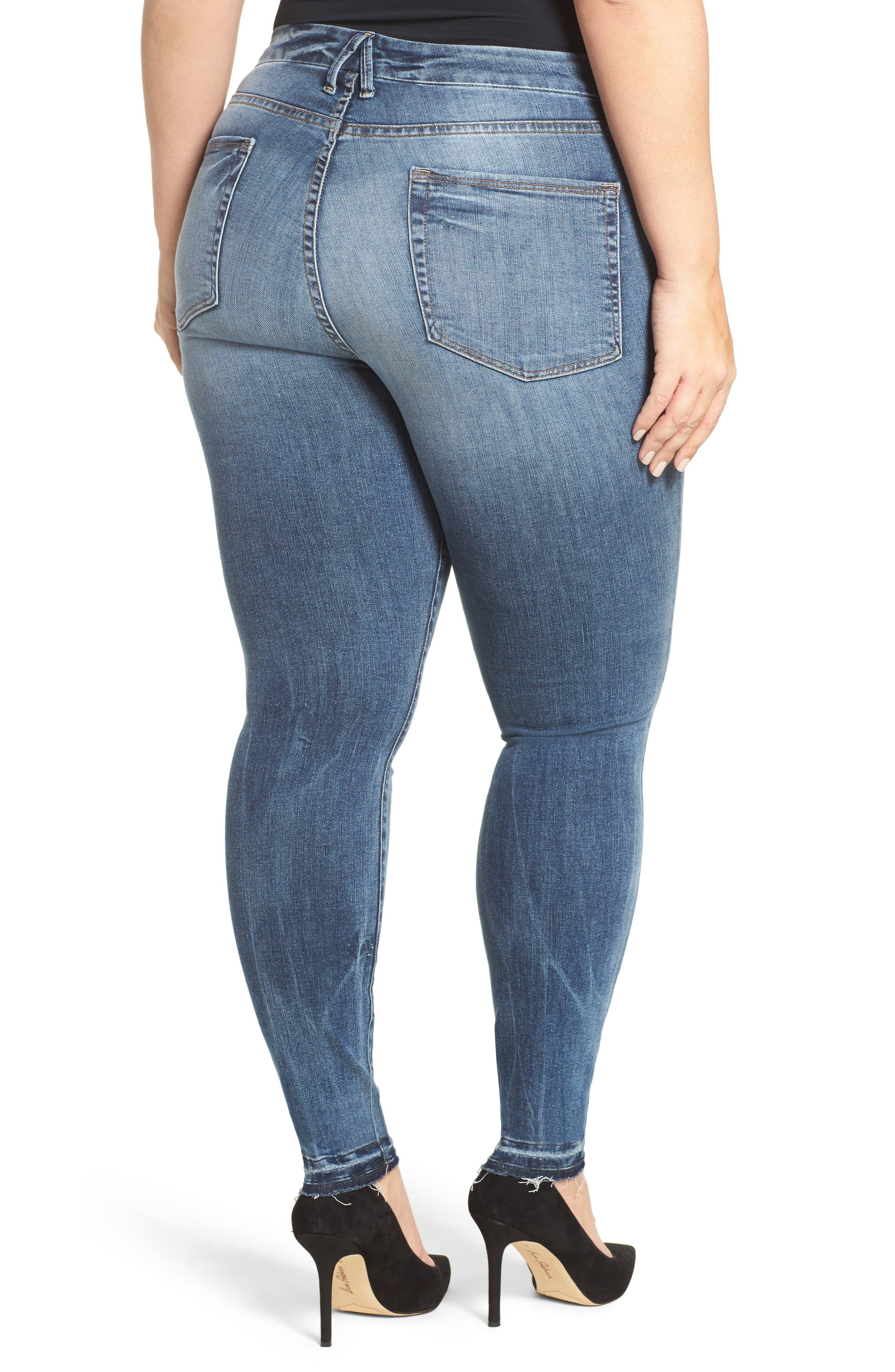 Good Legs High Rise Released Hem Skinny Jeans,                             Alternate thumbnail 2, color,                             402