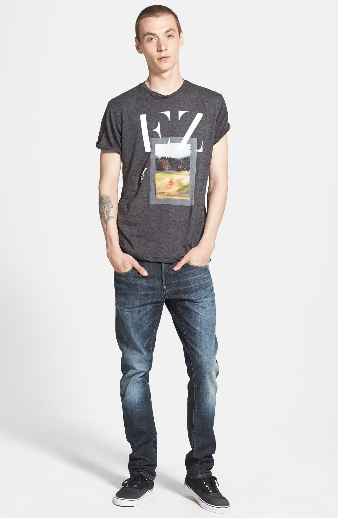 'New Radar' Slim Fit Jeans,                             Alternate thumbnail 2, color,                             404