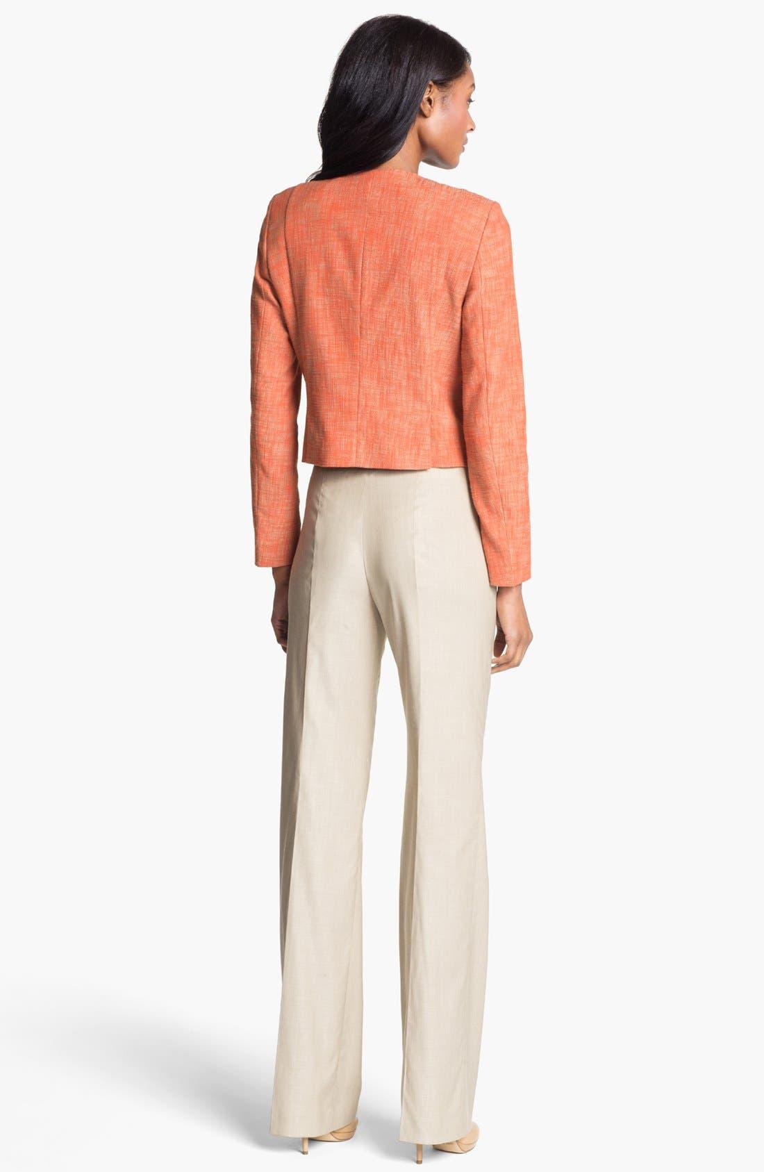 HUGO BOSS 'Tilana' Trousers,                             Alternate thumbnail 3, color,                             294