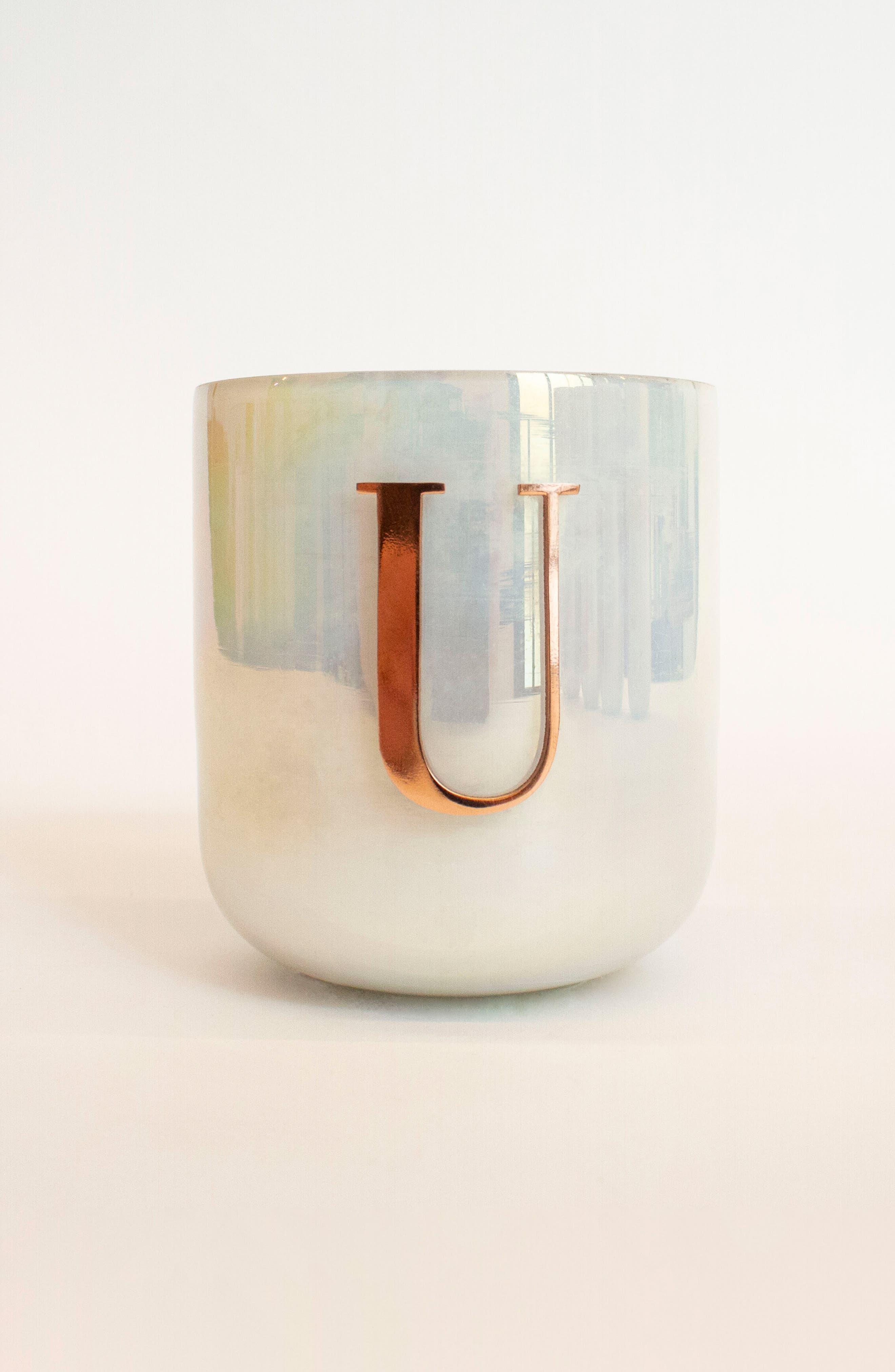 Monogram Candle,                         Main,                         color, U