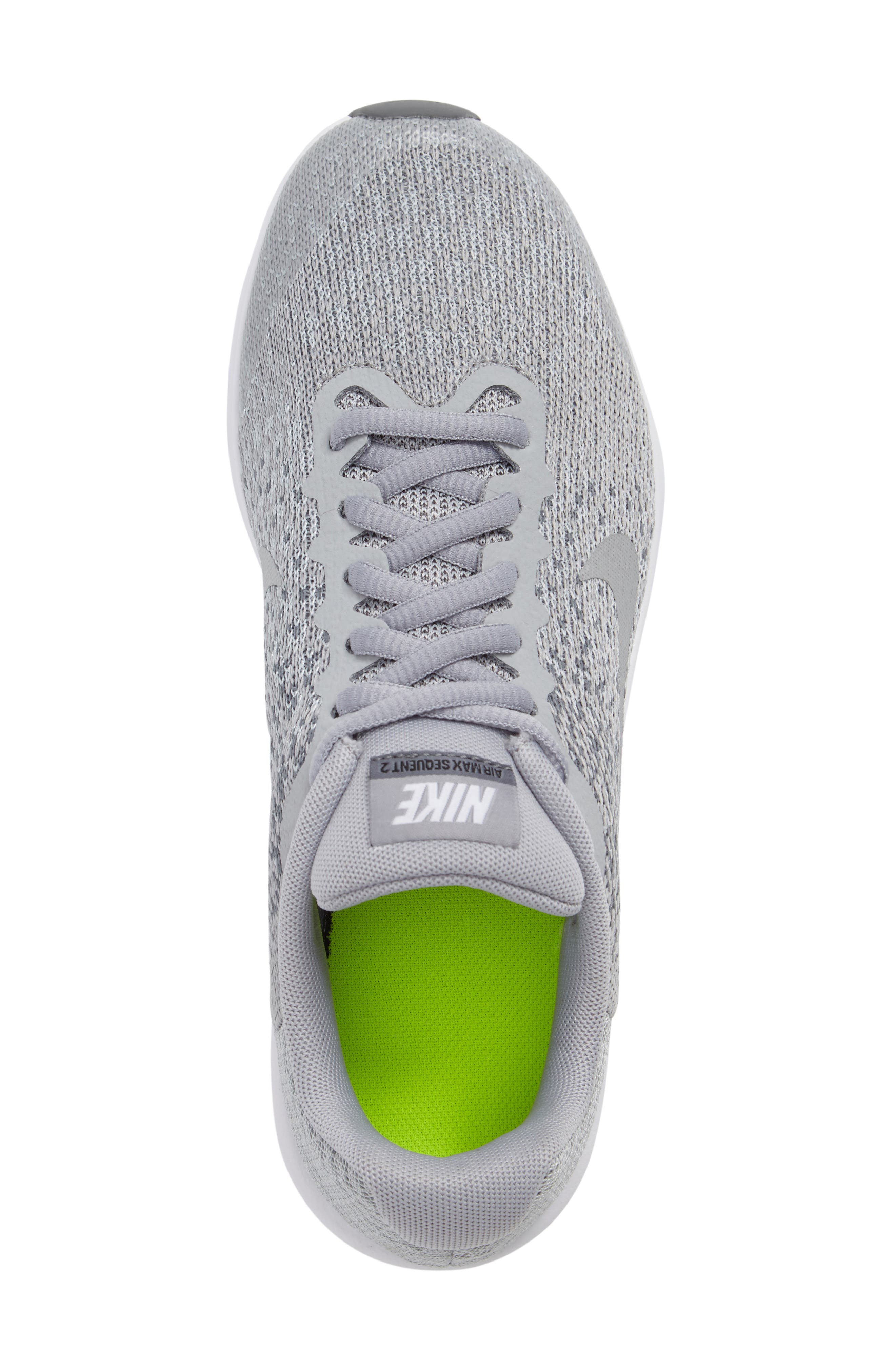 Air Max Sequent 2 Sneaker,                             Alternate thumbnail 5, color,                             020