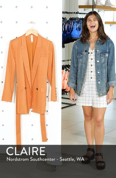 Belted Blazer, sales video thumbnail