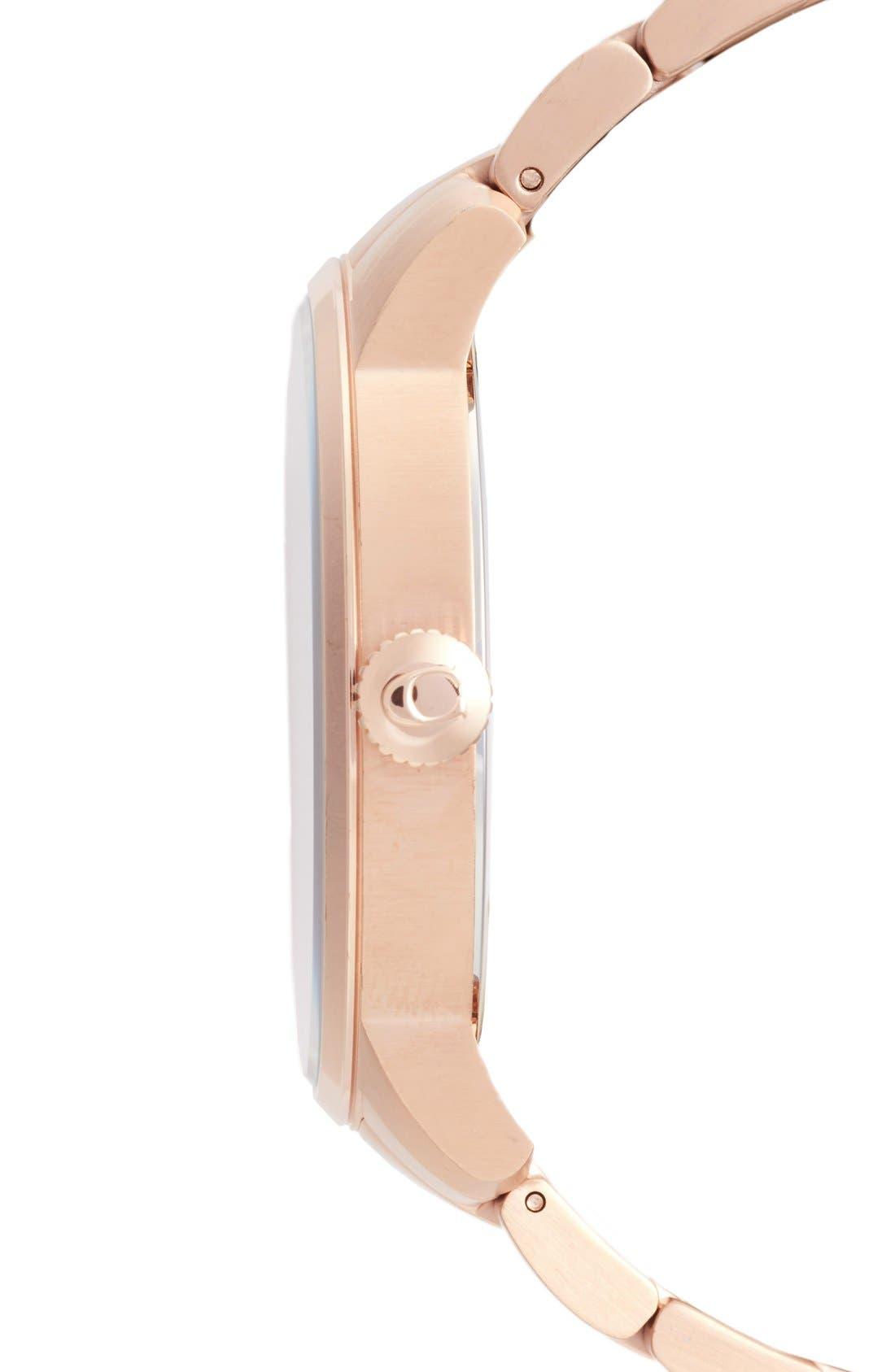 'Bleeker' Round Bracelet Watch, 46mm,                             Alternate thumbnail 12, color,