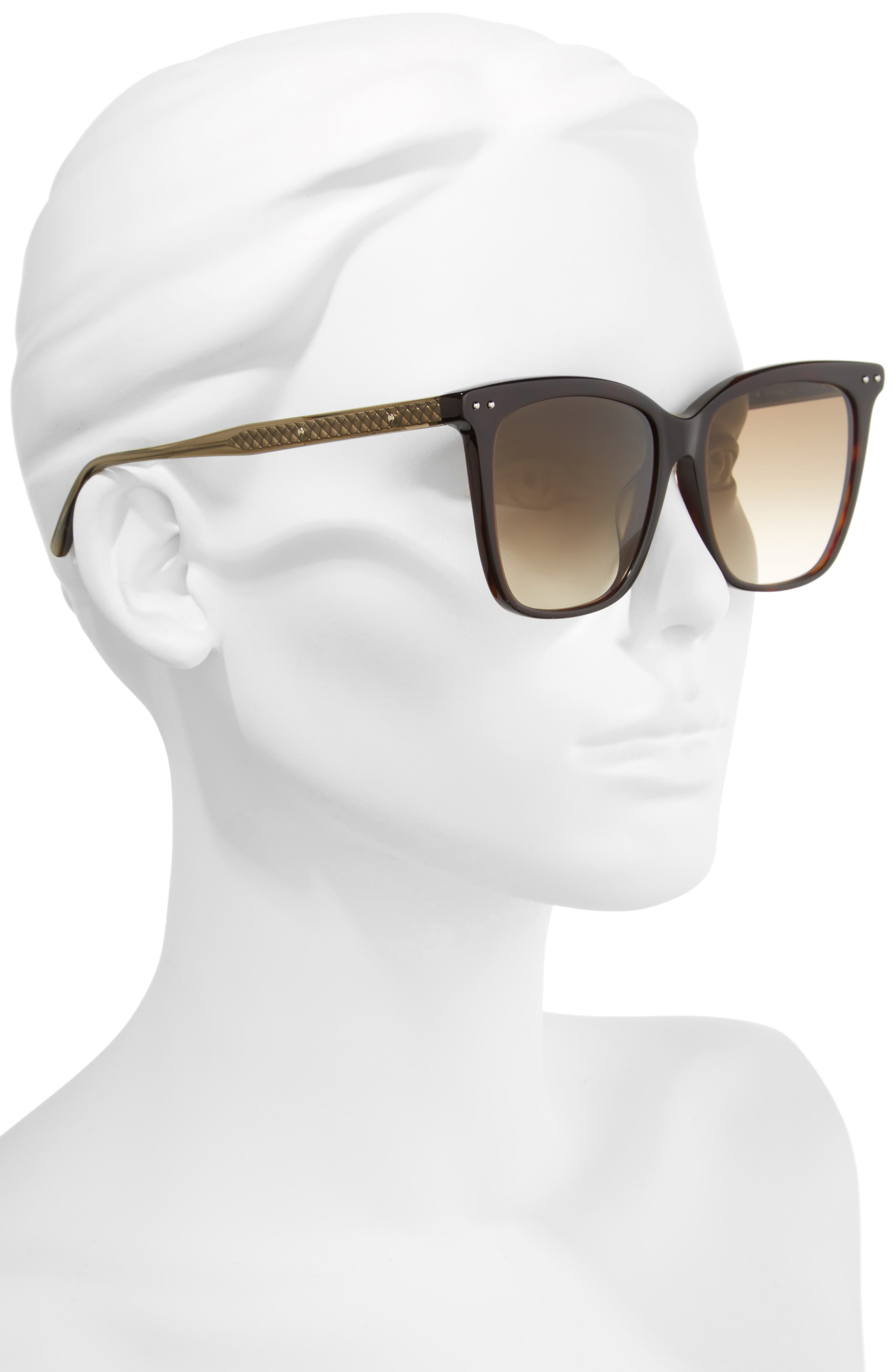 54mm Square Sunglasses,                             Alternate thumbnail 6, color,