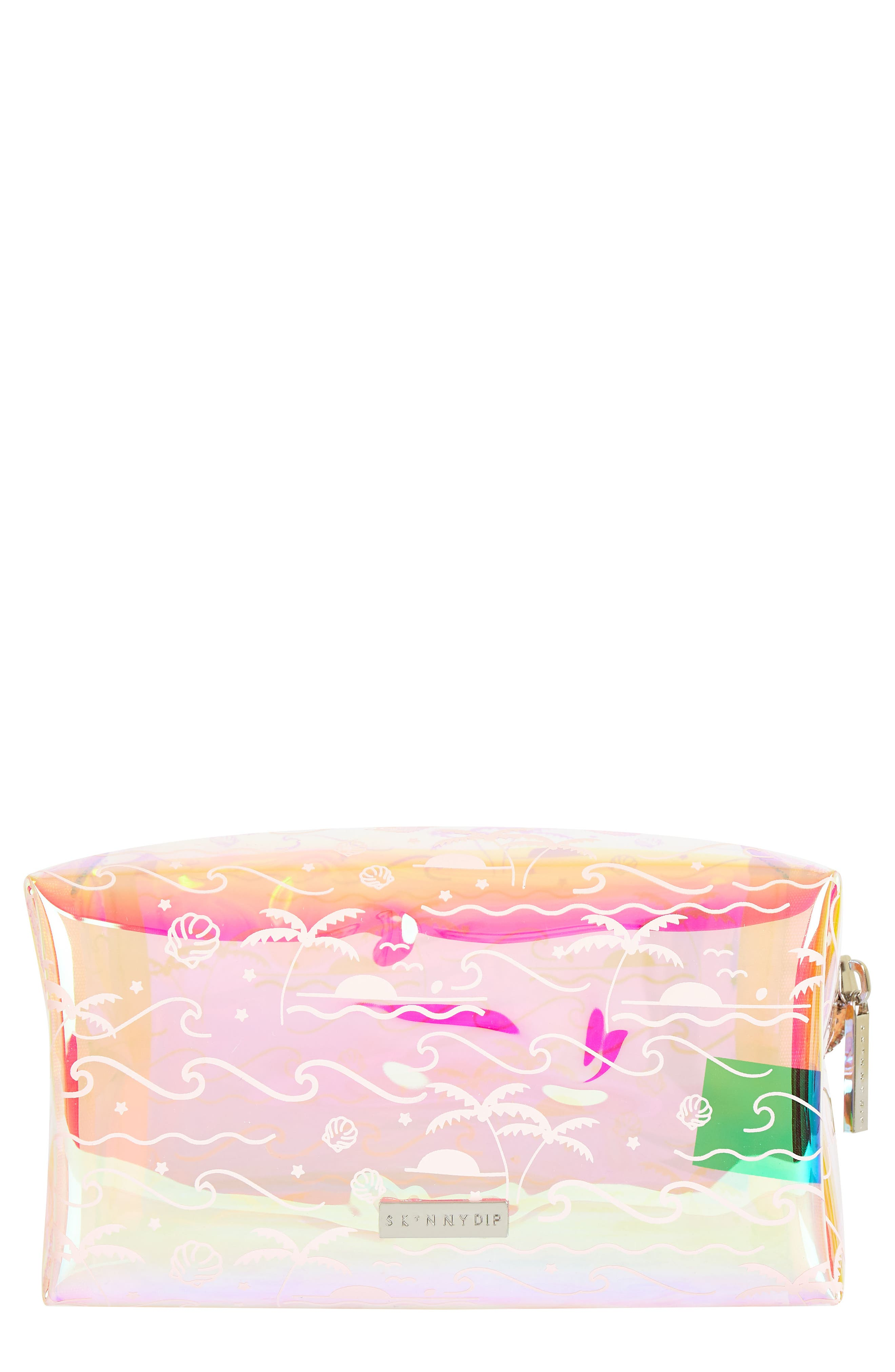 Skinny Dip Ocean Breeze Makeup Bag,                         Main,                         color, 000