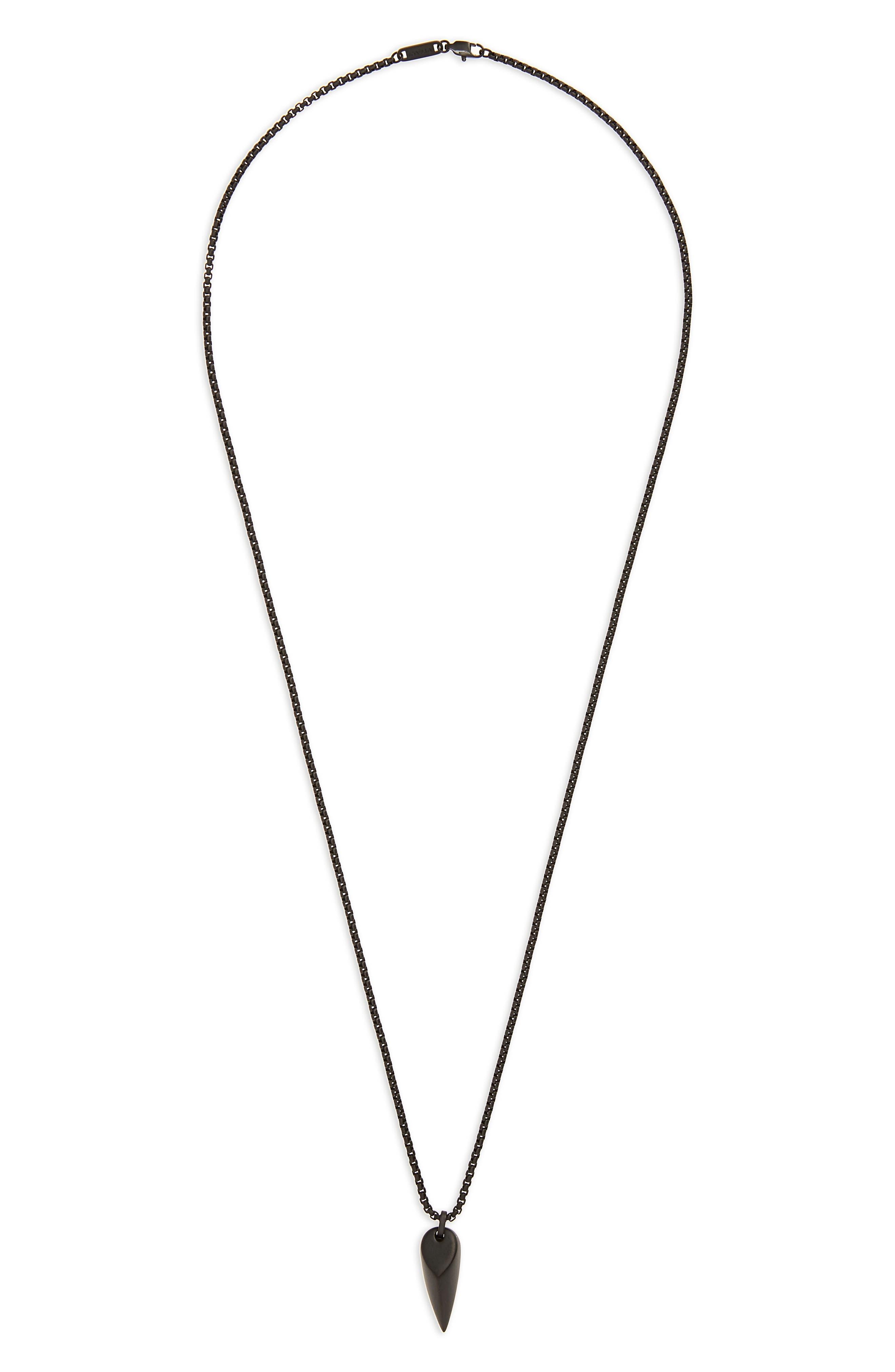 Corvus Pendant Necklace,                         Main,                         color, 001