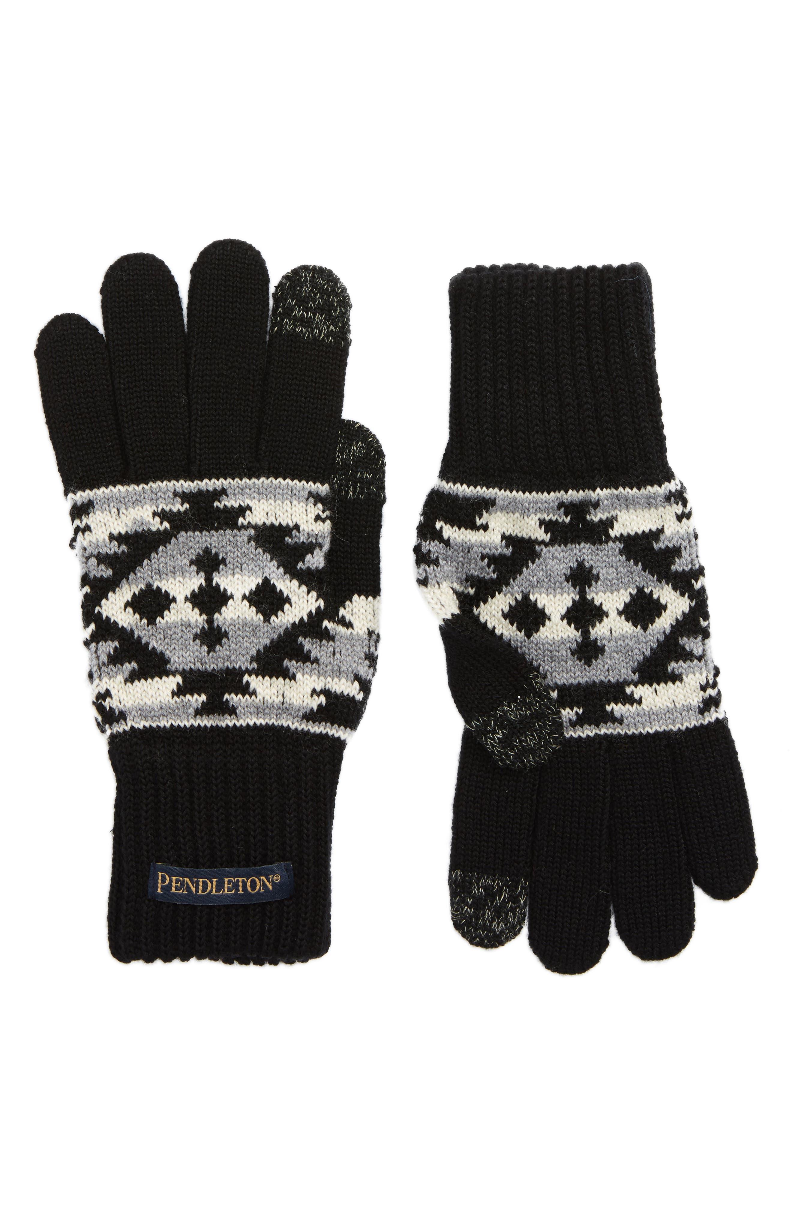 Texting Gloves,                             Main thumbnail 1, color,                             001