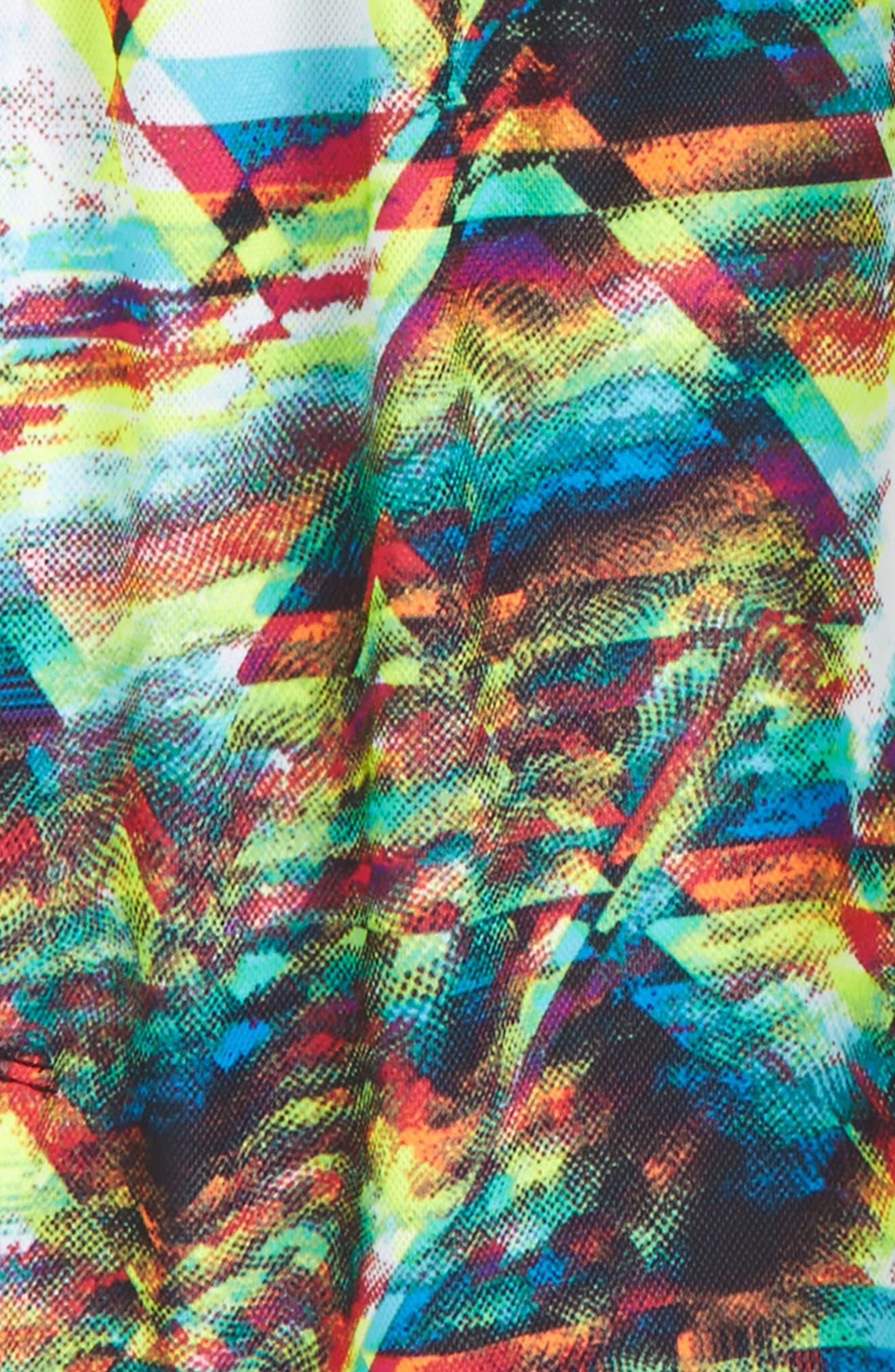 Dry Vent Print Training Shorts,                             Alternate thumbnail 4, color,