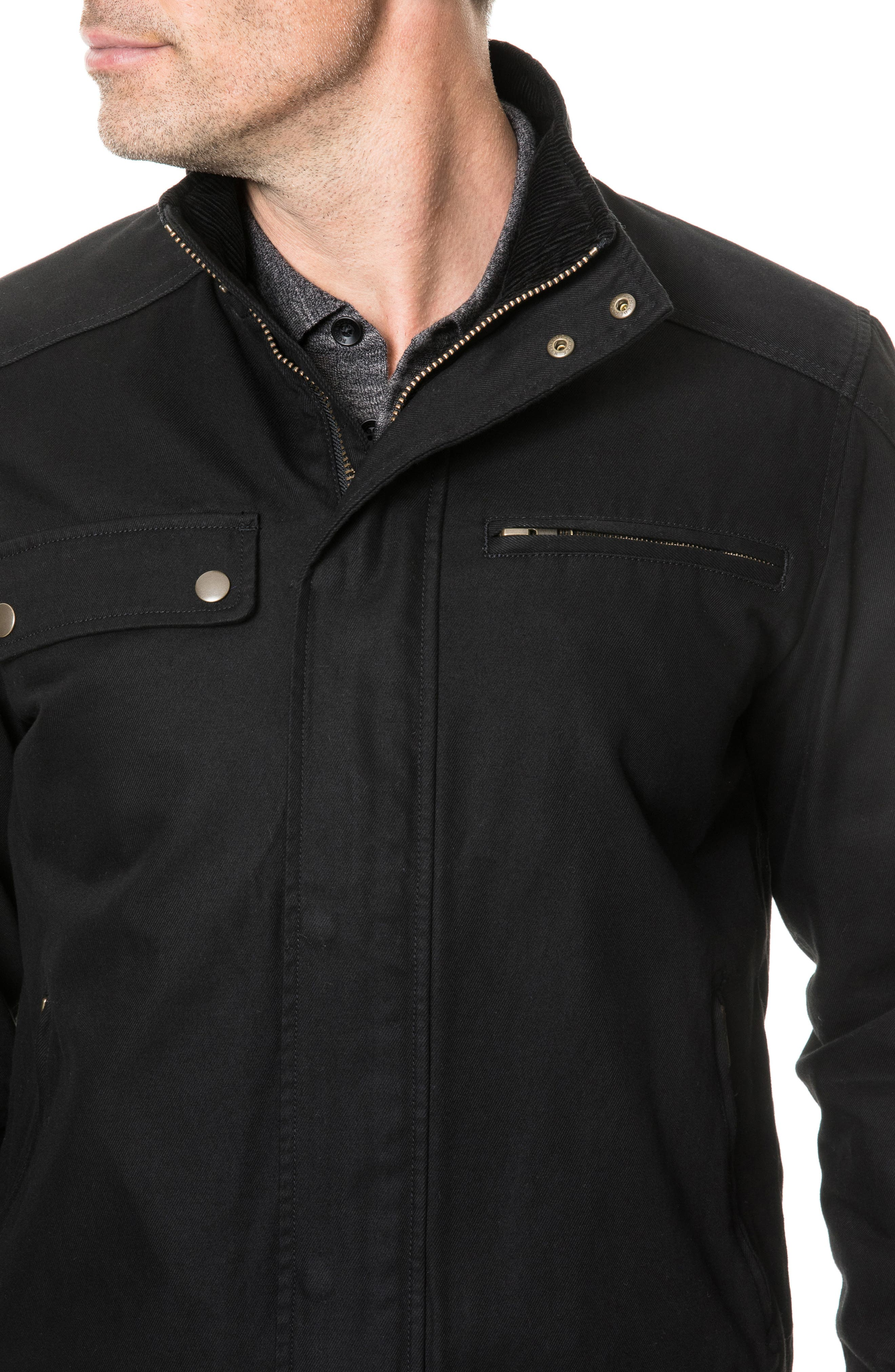 Campbell Point Jacket,                             Alternate thumbnail 3, color,                             NAVY