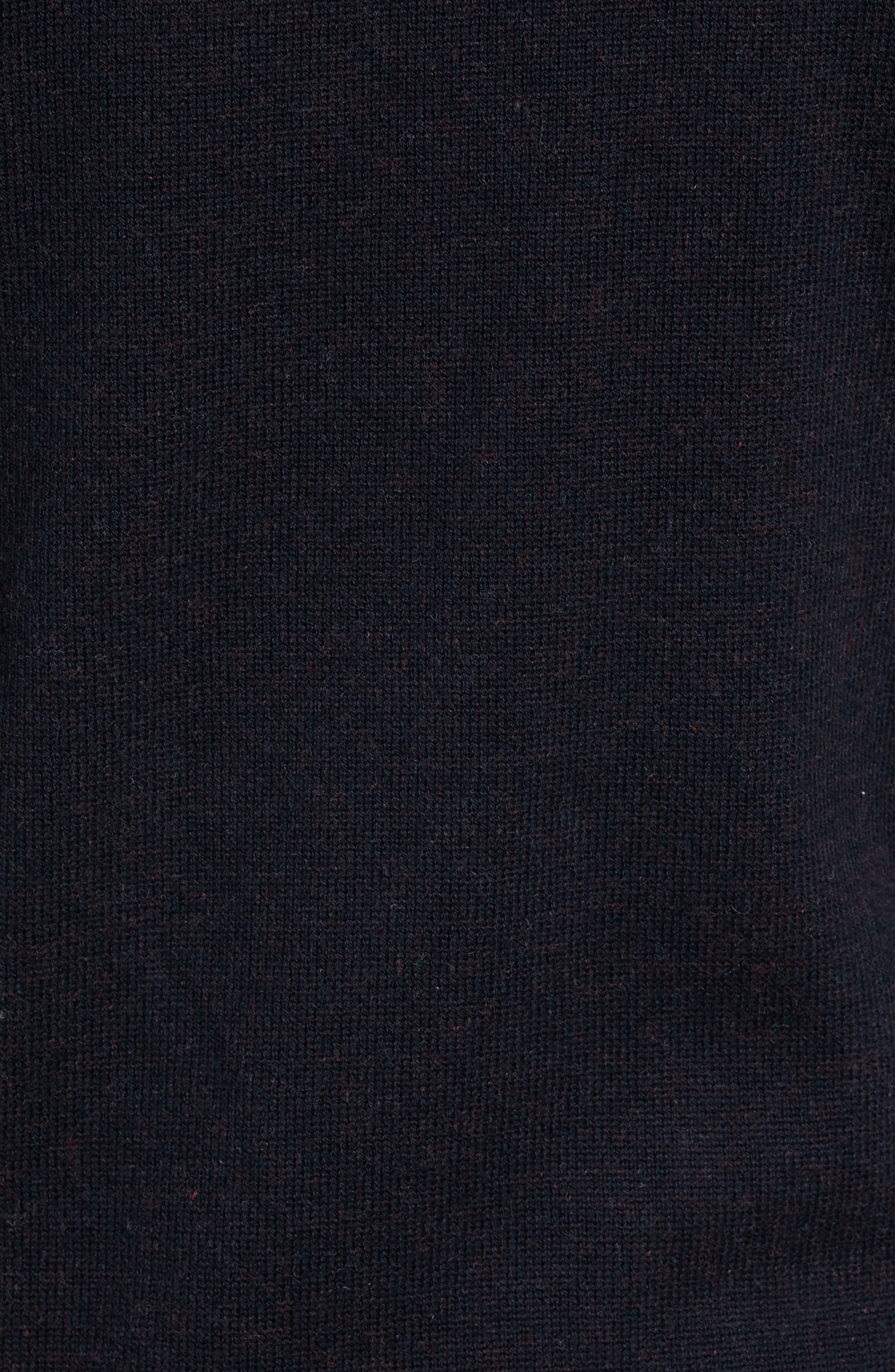 Regular Fit Cotton & Cashmere Hoodie,                             Alternate thumbnail 5, color,                             001