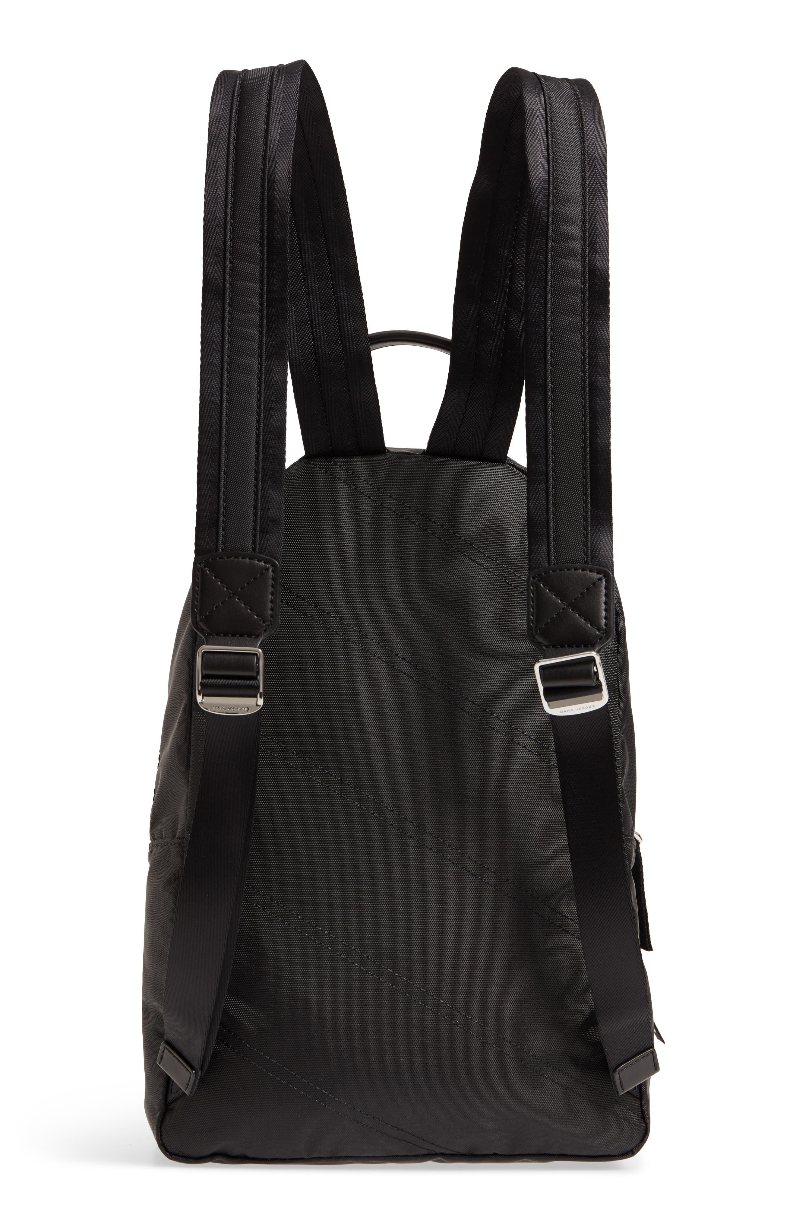 Medium Sport Trek Backpack,                             Alternate thumbnail 3, color,                             BLACK