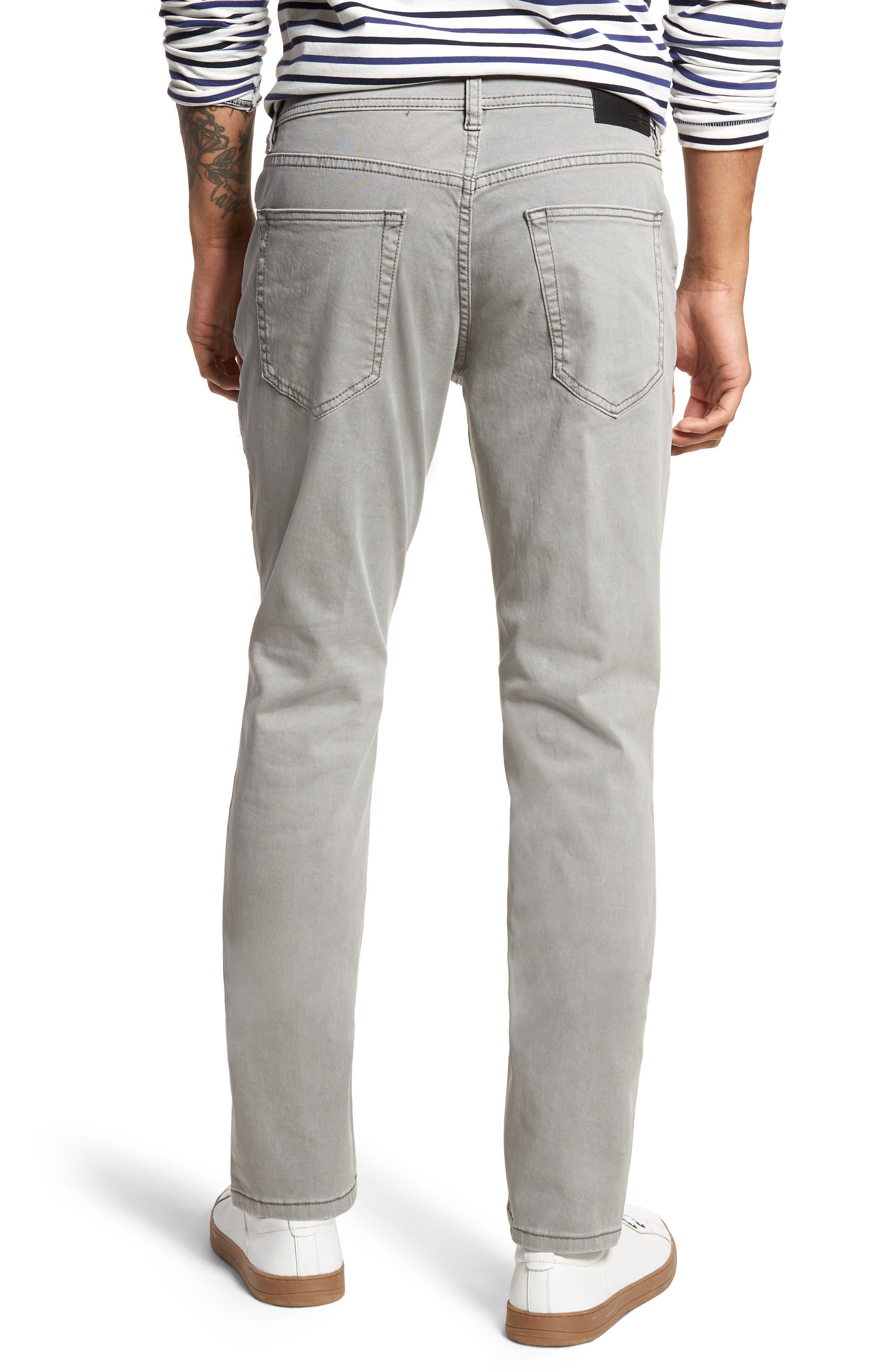 Jeans Co. Slim Straight Leg Jeans,                             Alternate thumbnail 2, color,                             SHARKSKIN
