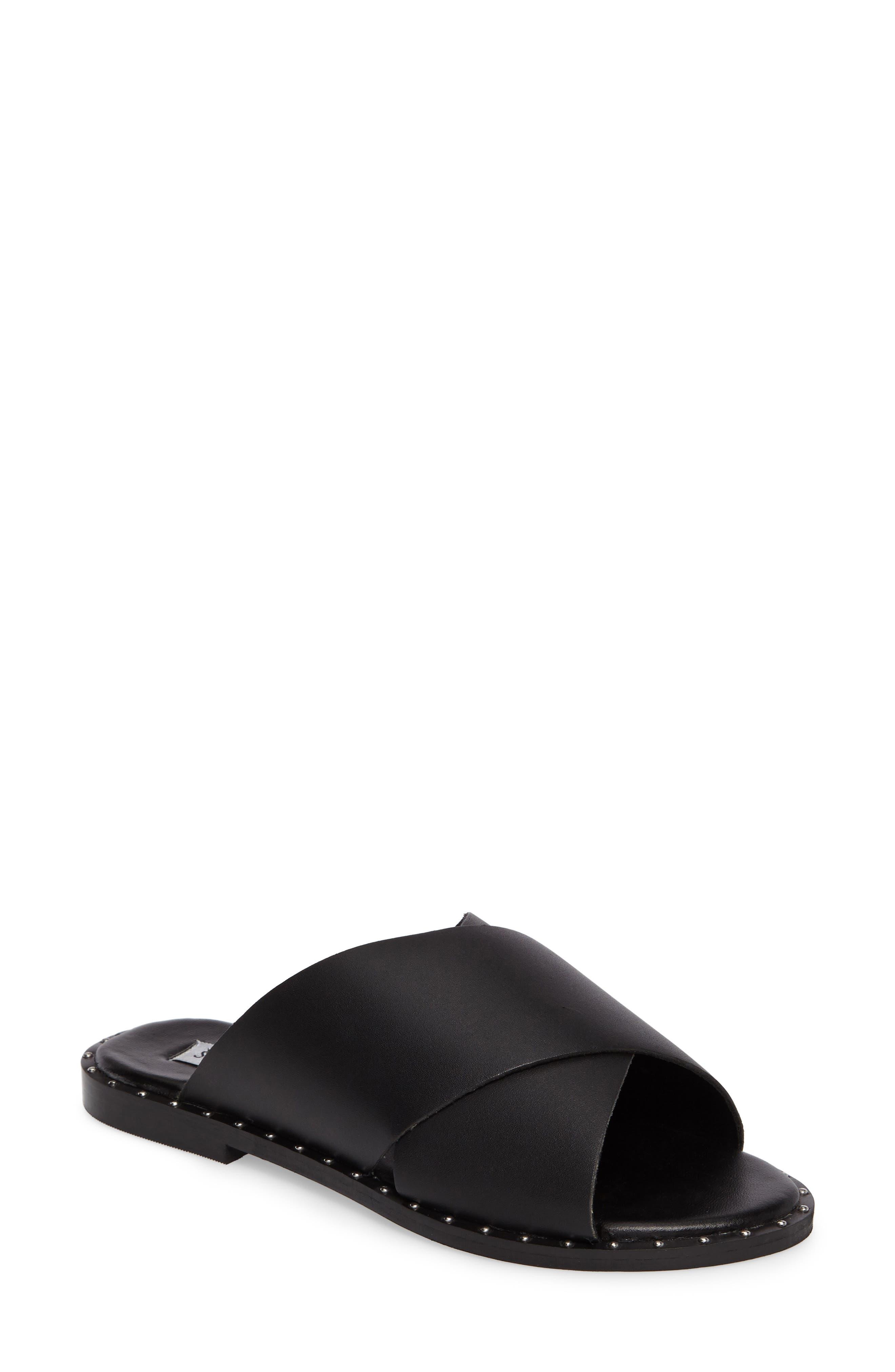 Alpha Slide Sandal,                         Main,                         color, 001