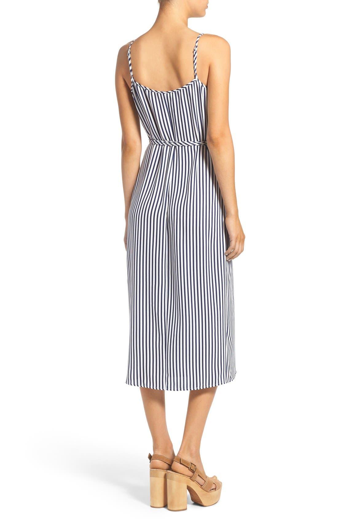 Wrap Midi Dress,                             Alternate thumbnail 8, color,