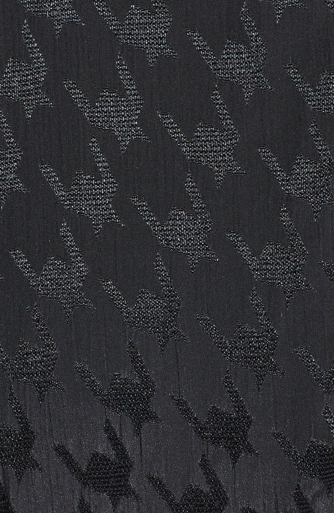 ASTR Jacquard Houndstooth Maxi Dress,                             Alternate thumbnail 2, color,                             001