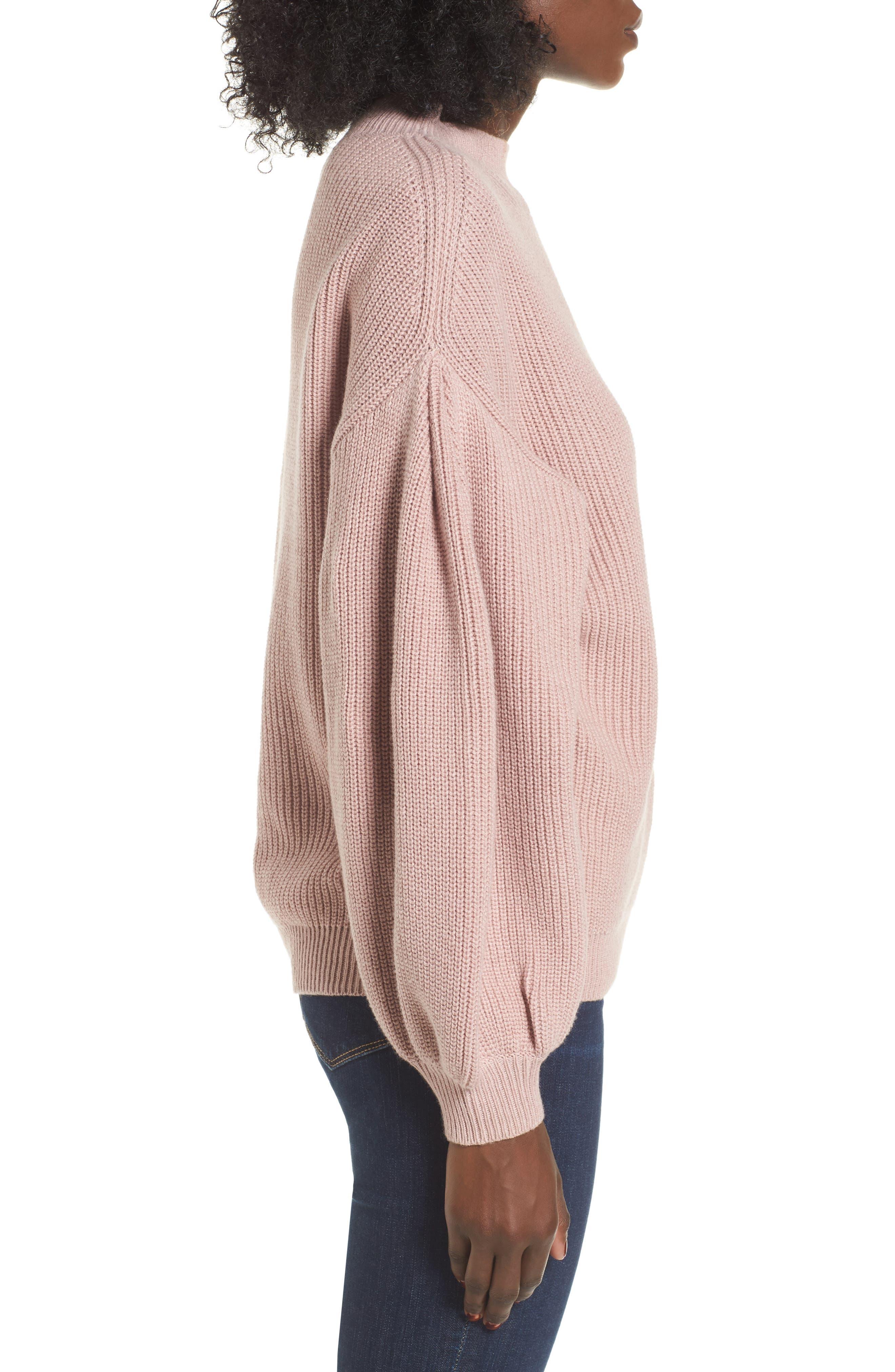 Blouson Sleeve Sweater,                             Alternate thumbnail 15, color,