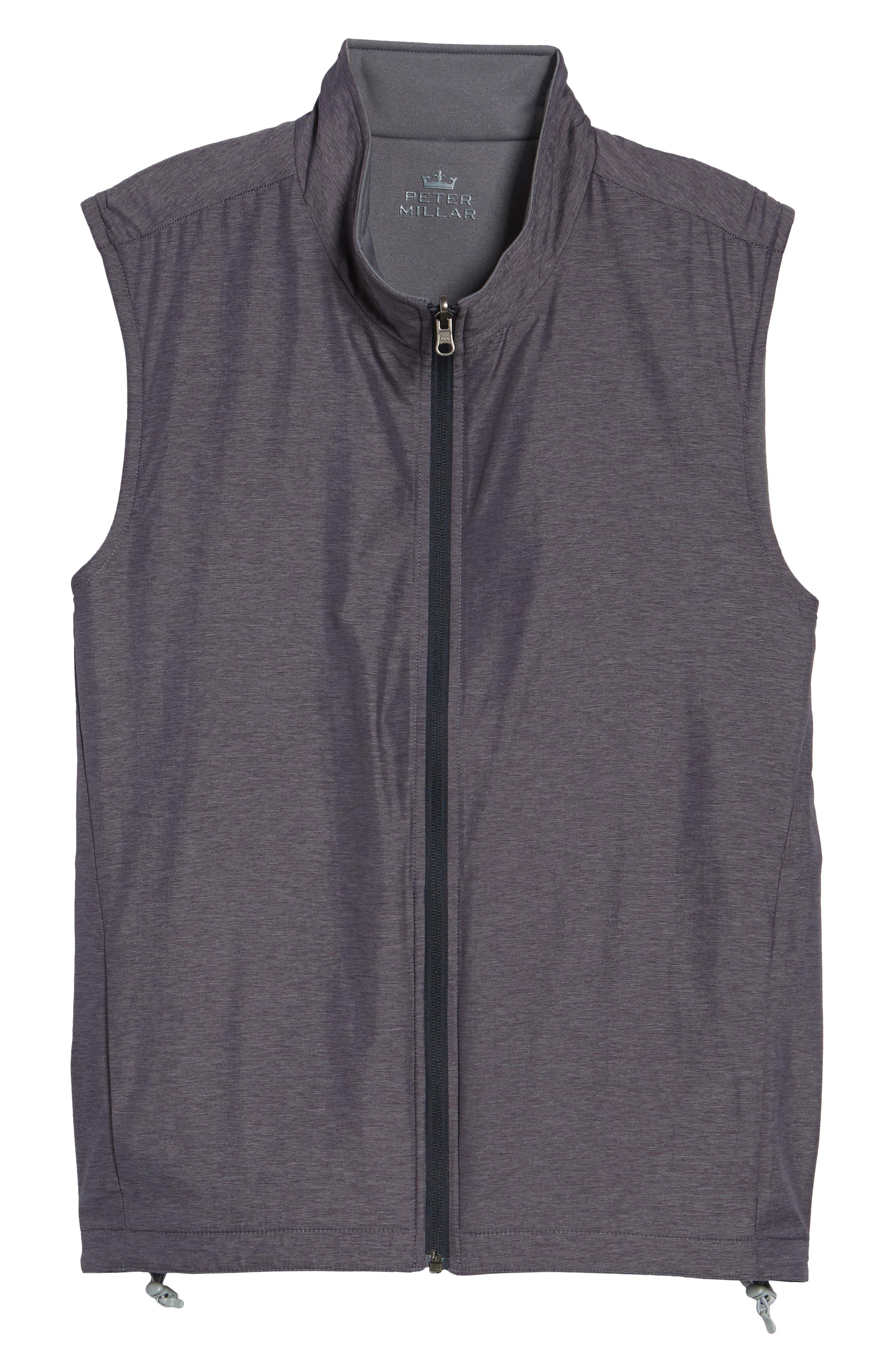 Carthage Reversible Vest,                             Alternate thumbnail 6, color,                             BLACK