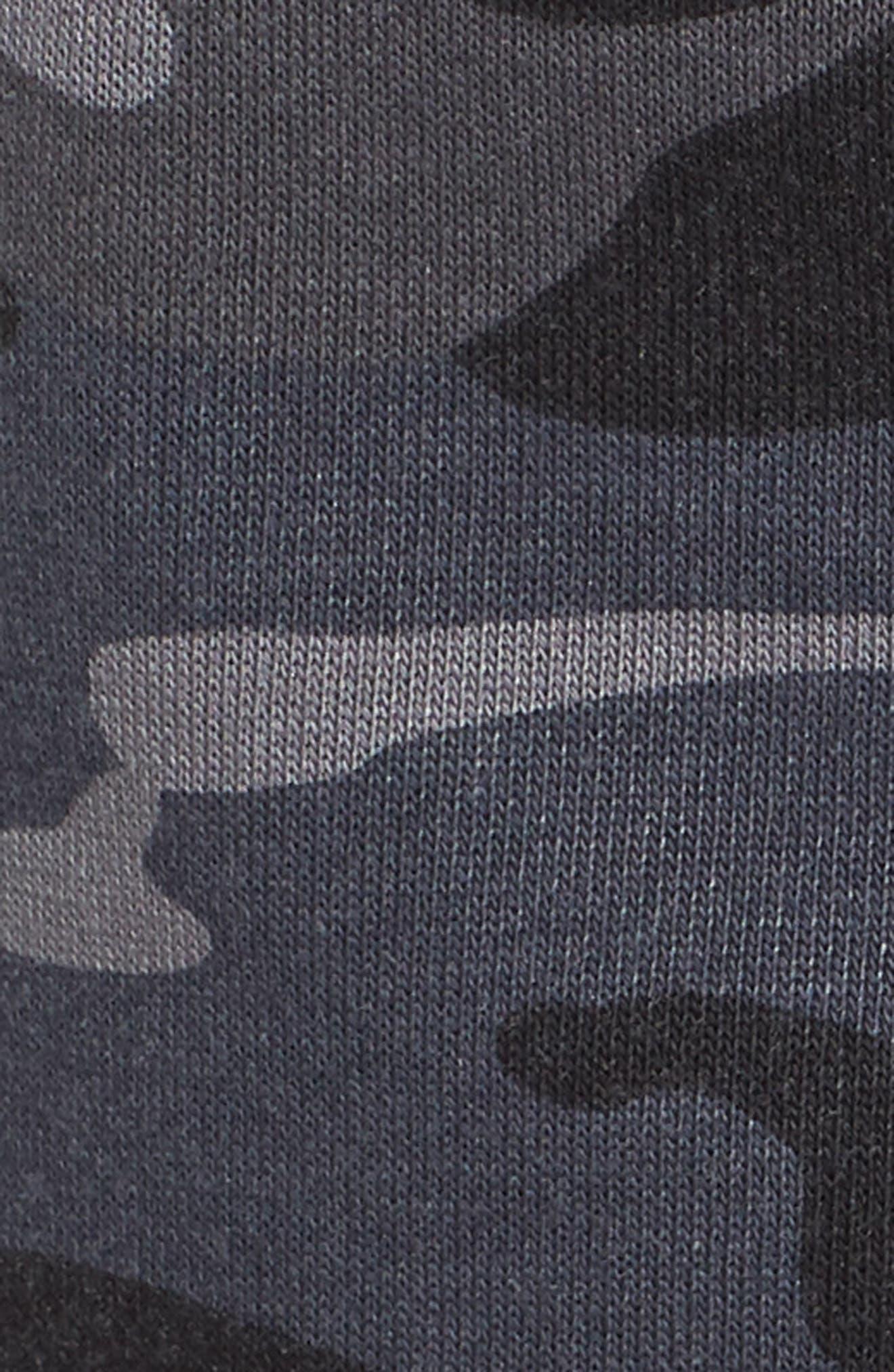 ALTERNATIVE,                             Camo Lounge Shorts,                             Alternate thumbnail 5, color,                             099