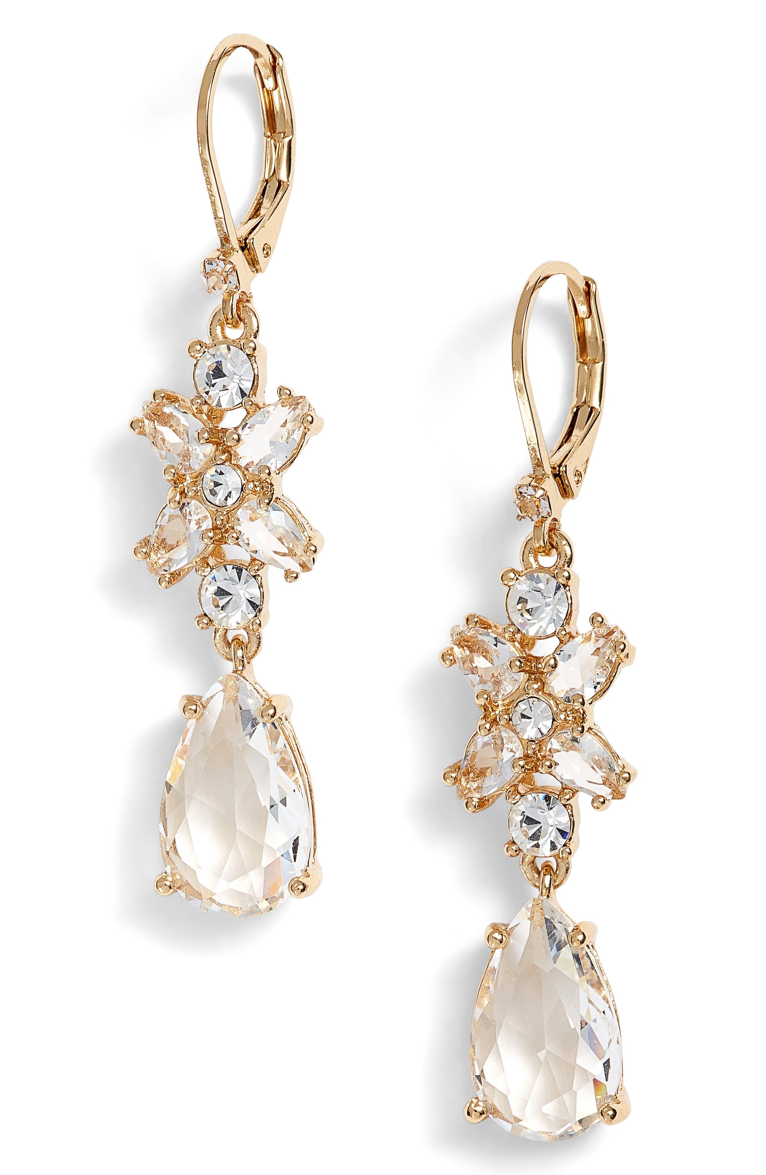take a shine drop earrings,                             Main thumbnail 3, color,