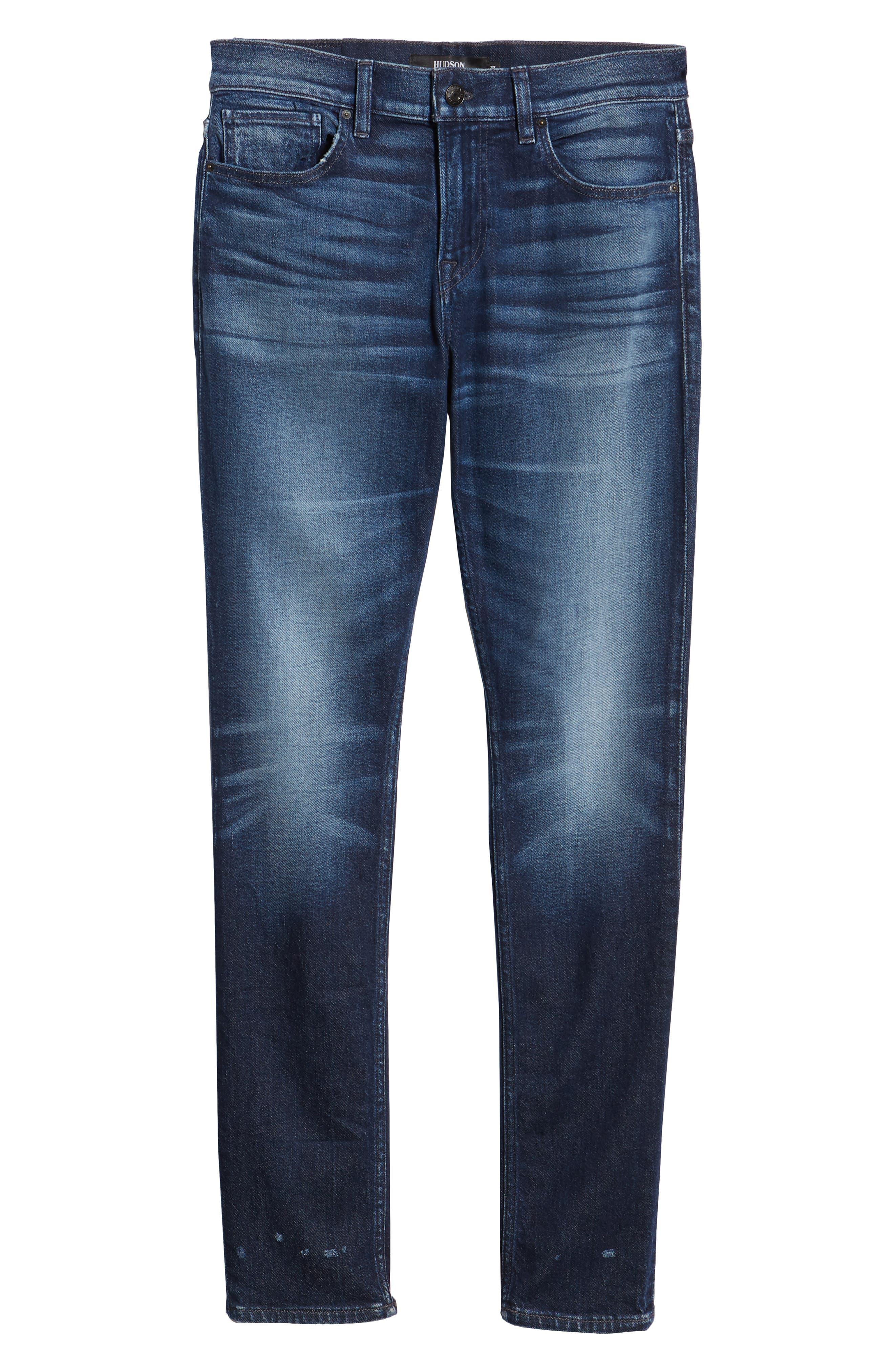 Axl Skinny Fit Jeans,                             Alternate thumbnail 6, color,                             BENNETT