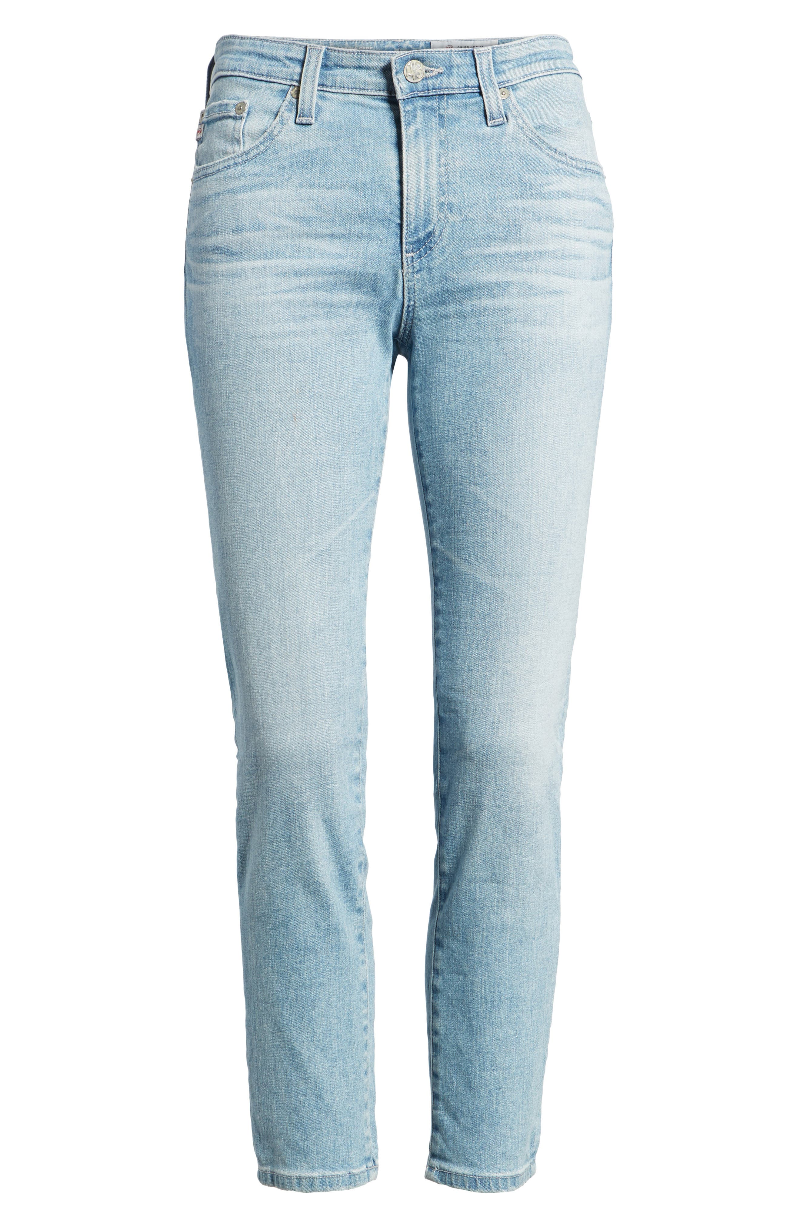 Prima Crop Cigarette Jeans,                             Alternate thumbnail 16, color,