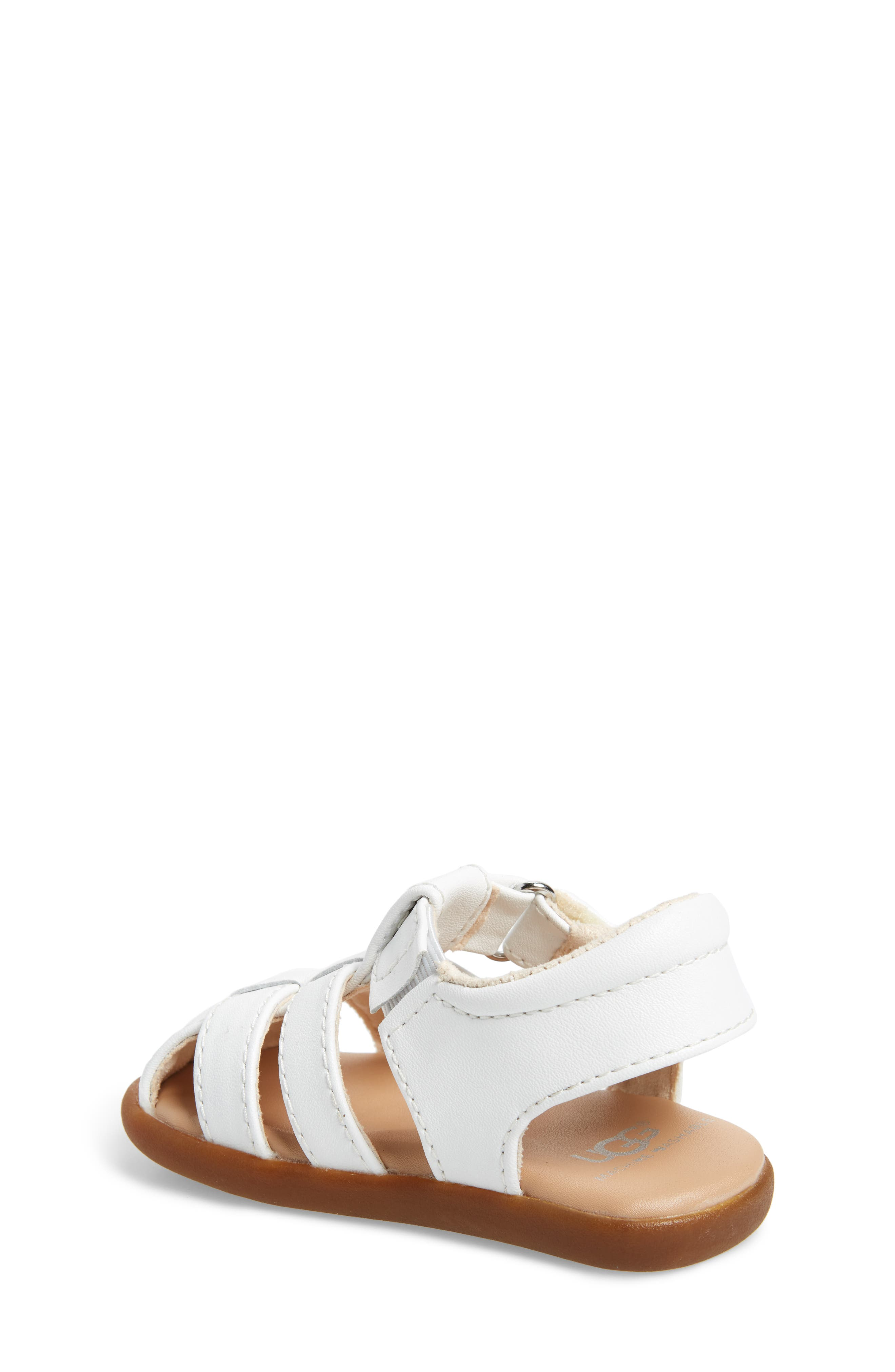 Kolding Fisherman Sandal,                             Alternate thumbnail 2, color,                             WHITE
