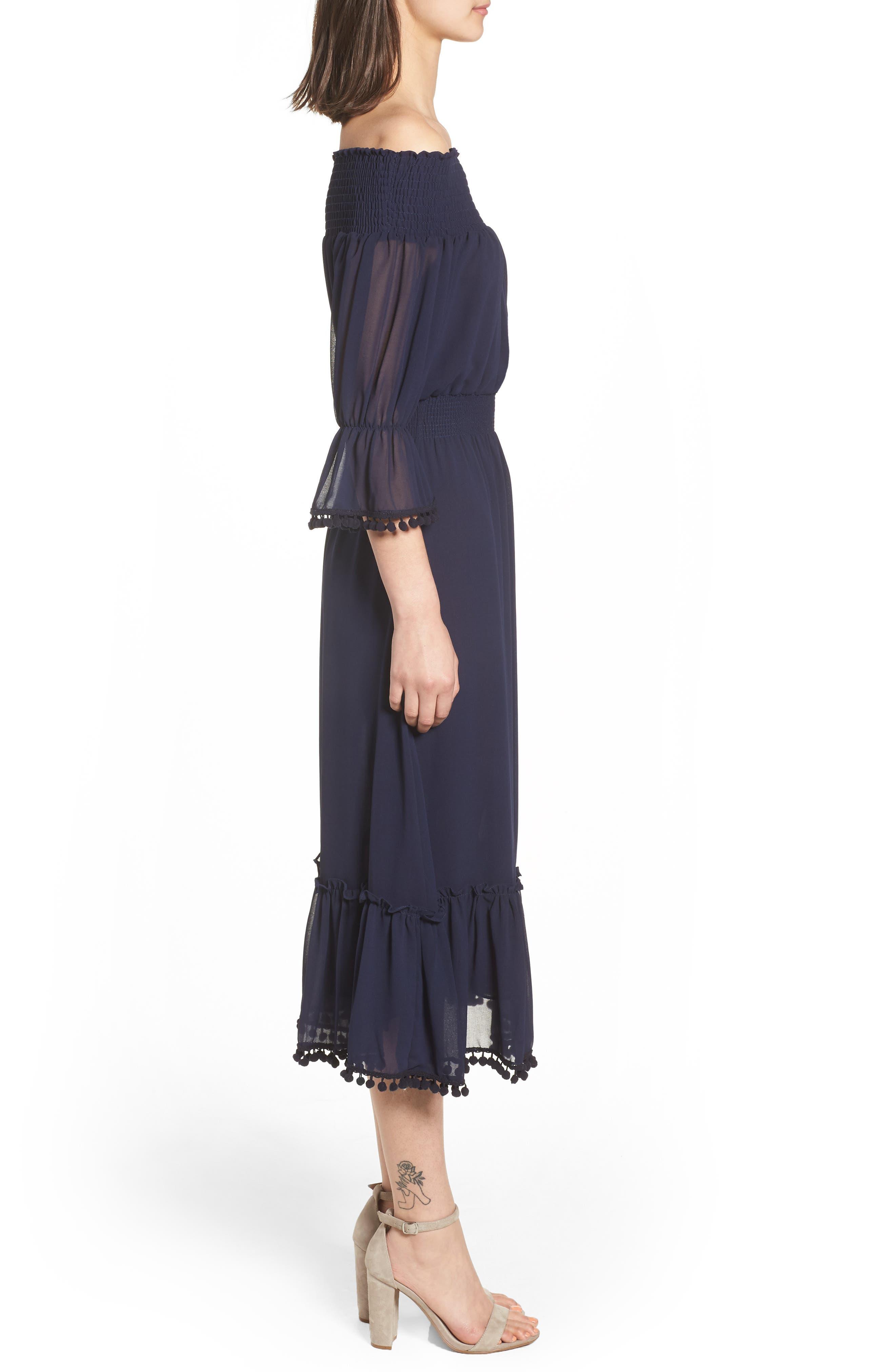 Inka Dress,                             Alternate thumbnail 3, color,                             410