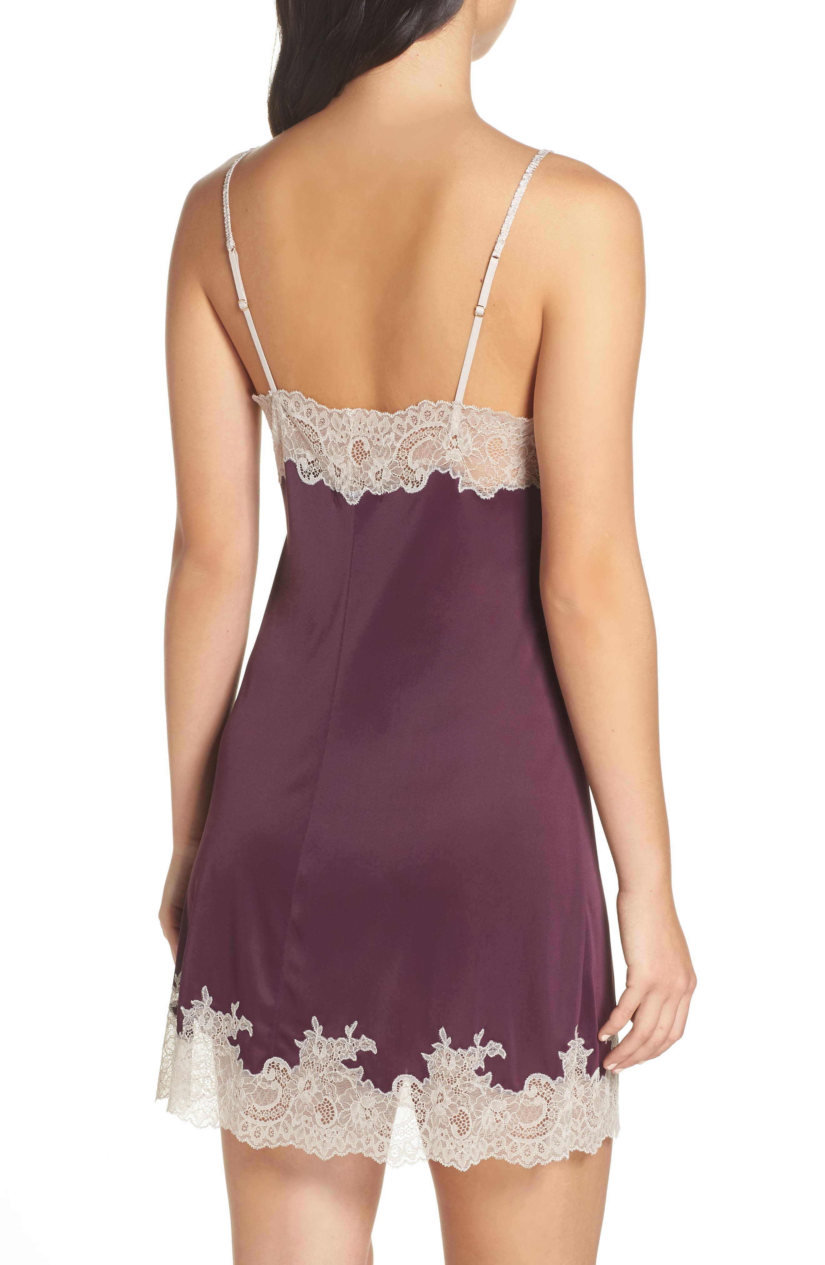 'Enchant' Chemise,                             Alternate thumbnail 2, color,                             PURPLE COCOON