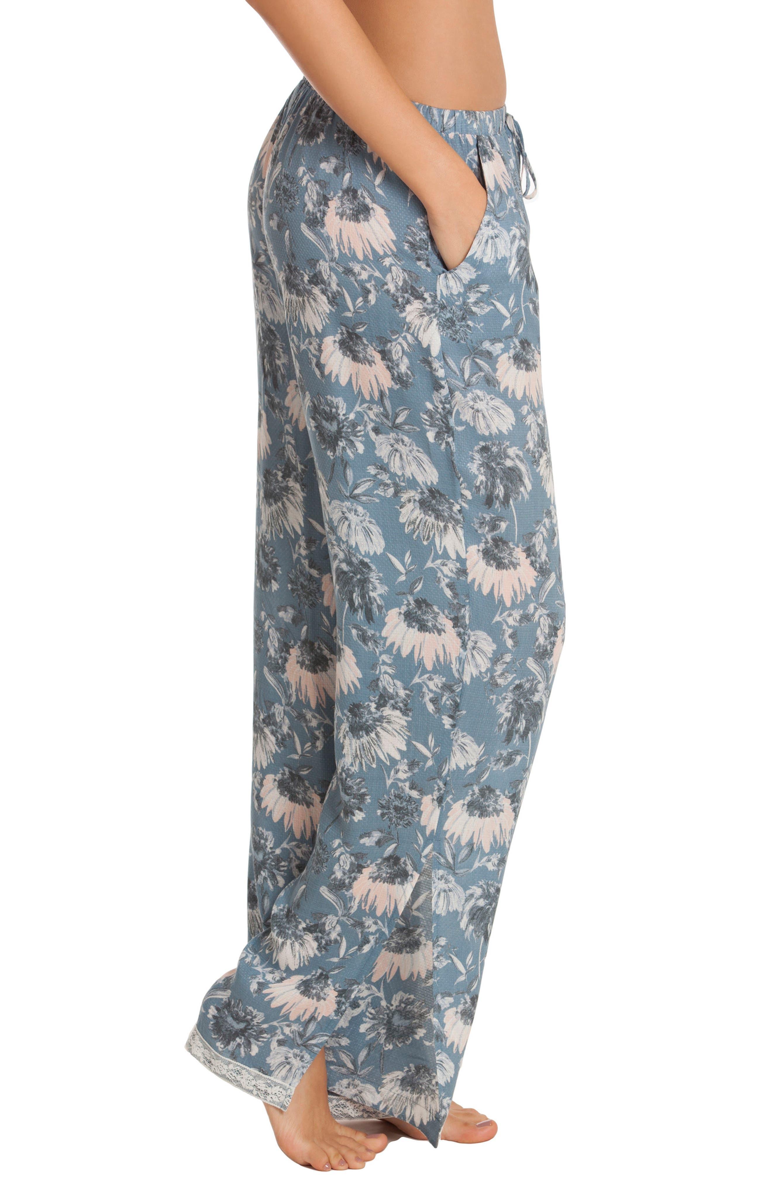Pajama Pants,                             Alternate thumbnail 3, color,                             402