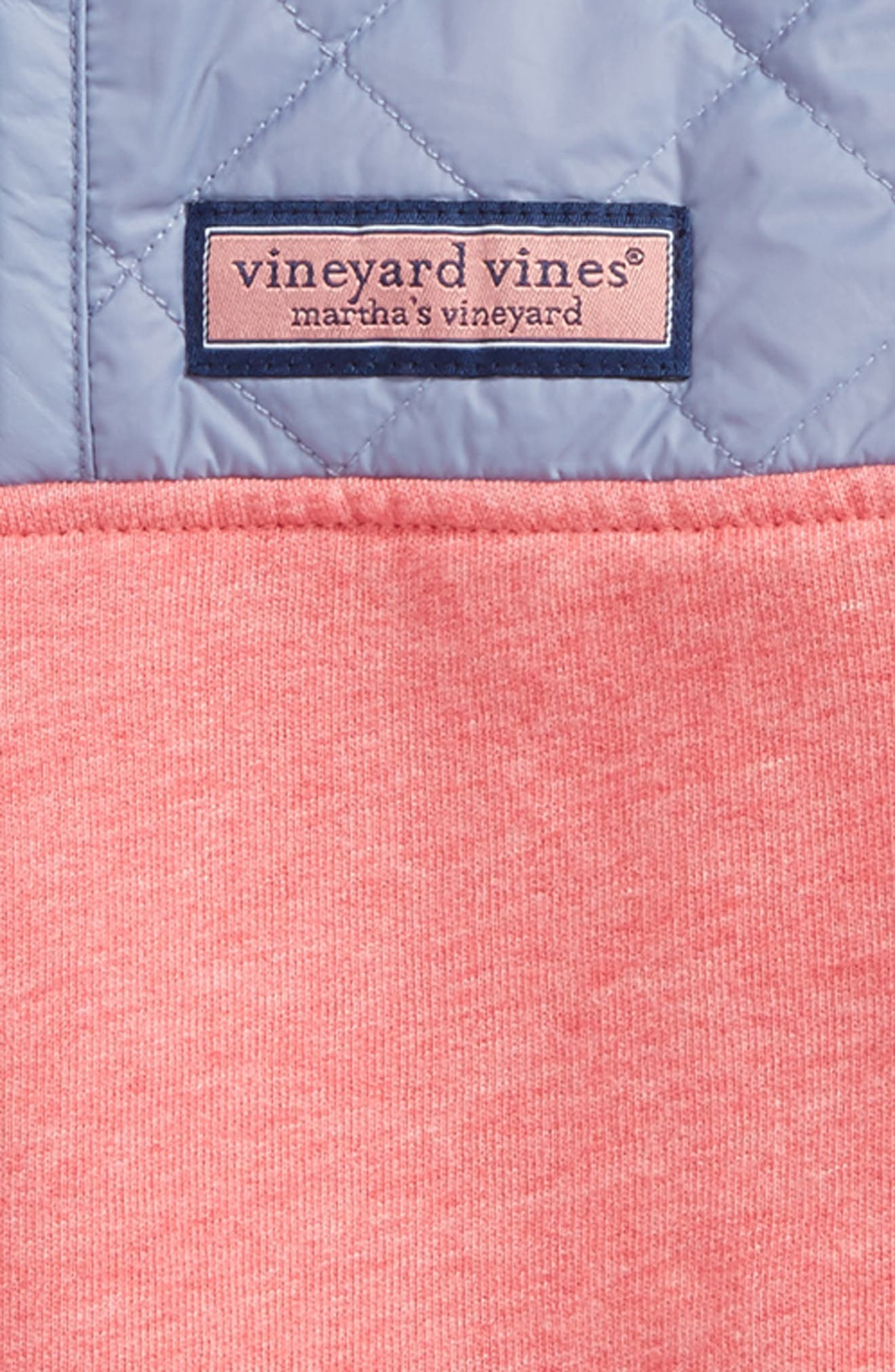 Shep Quilted Quarter Zip Pullover,                             Alternate thumbnail 2, color,