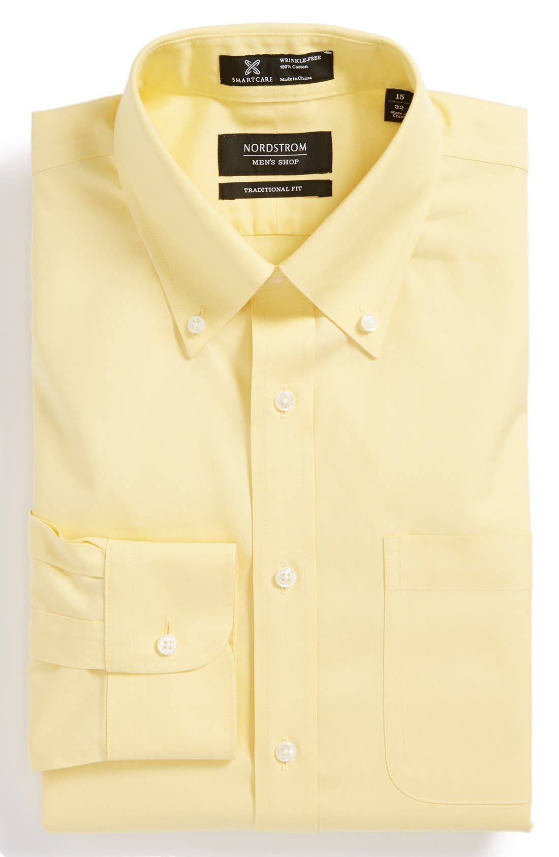 Smartcare<sup>™</sup> Traditional Fit Pinpoint Dress Shirt,                             Main thumbnail 39, color,