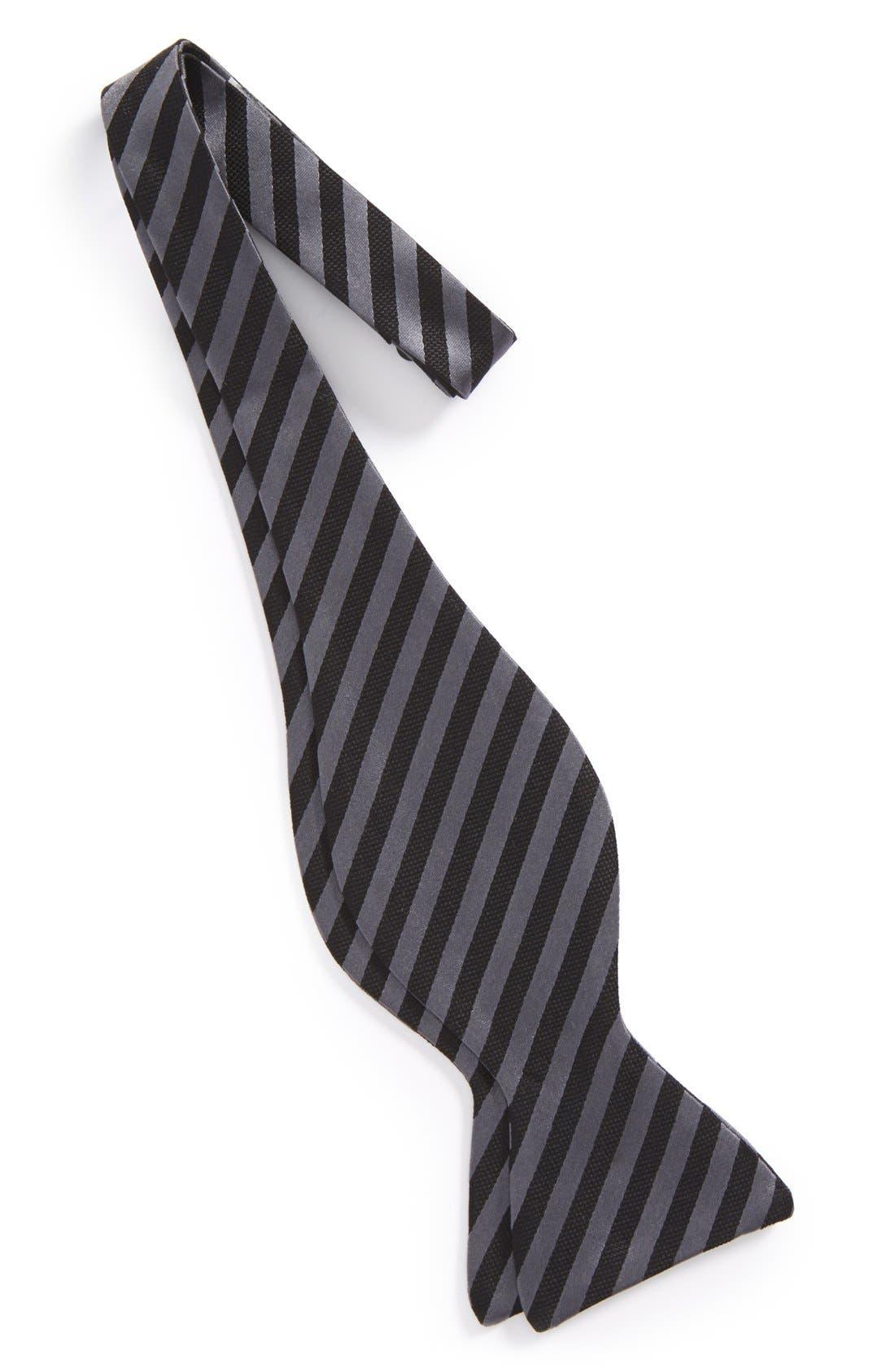 Silk Bow Tie,                             Alternate thumbnail 3, color,                             001