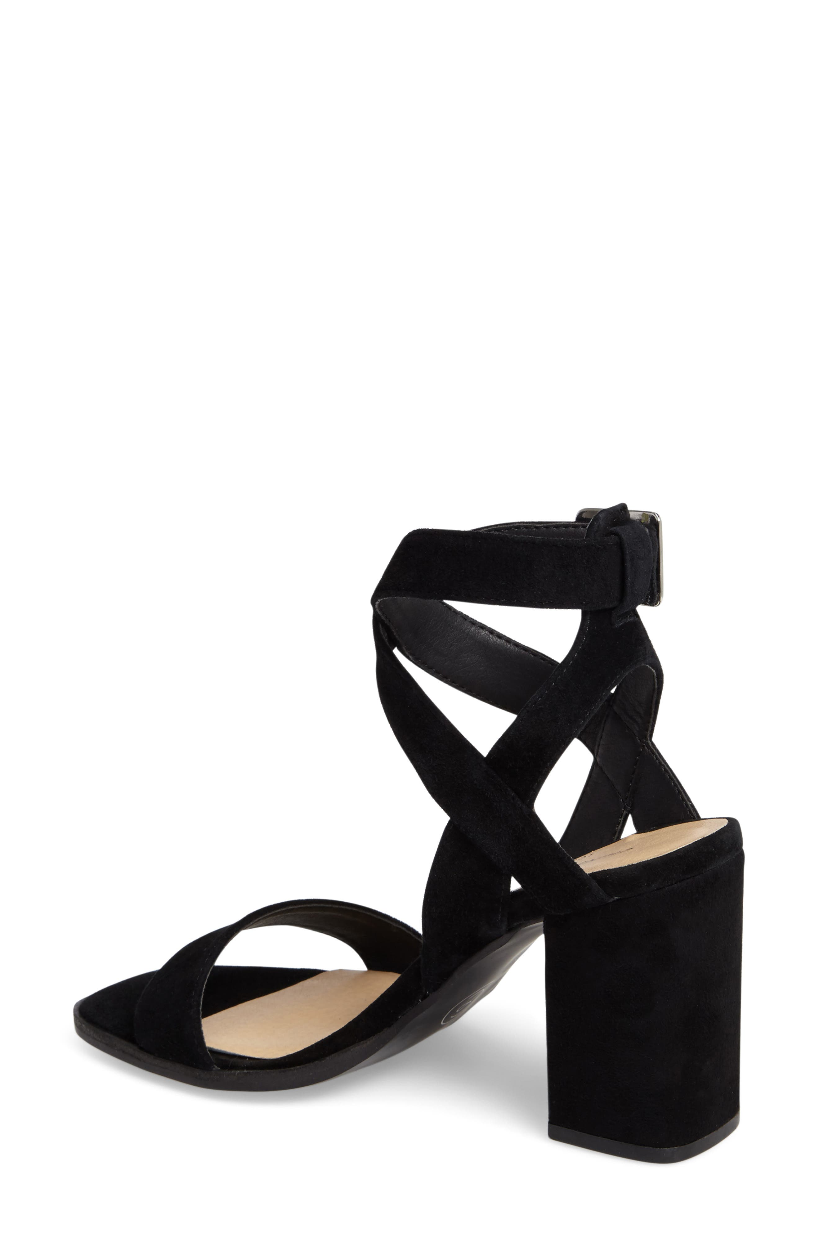 Sitara Ankle Strap Sandal,                             Alternate thumbnail 2, color,                             001