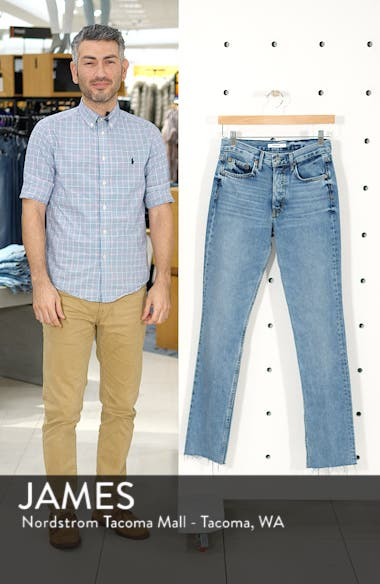 Addison Split Hem Boot Leg Jeans, sales video thumbnail