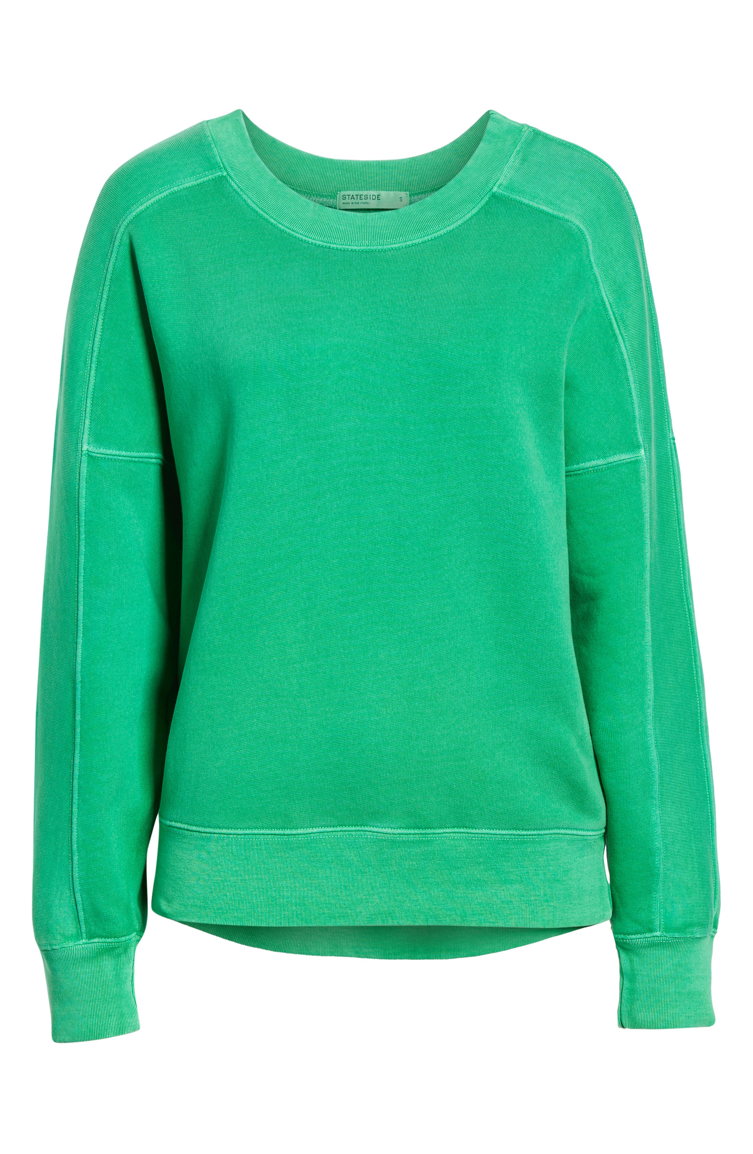 Neon Pullover,                             Alternate thumbnail 6, color,                             GREEN