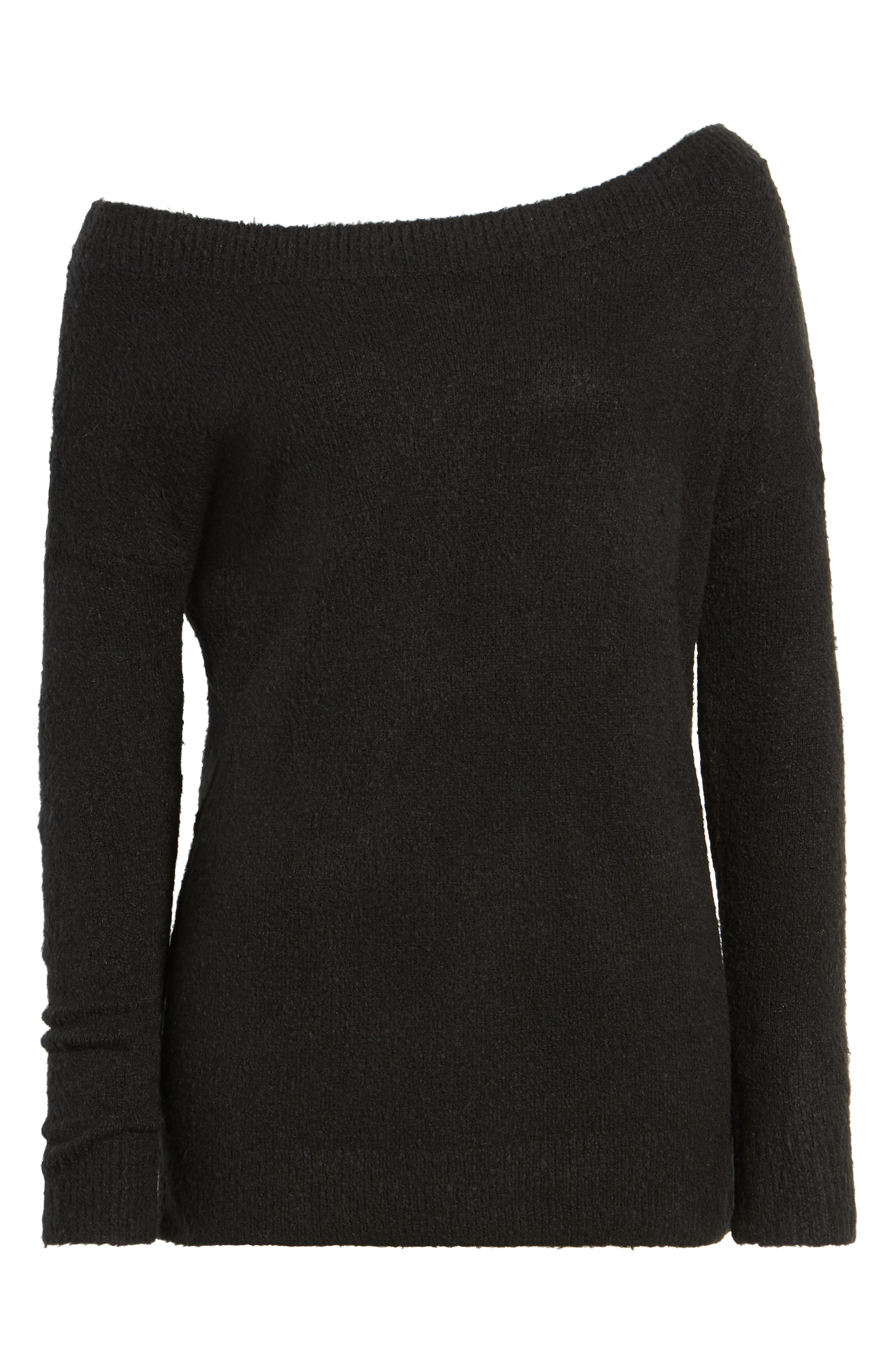Urban Flossy One-Shoulder Sweater,                             Alternate thumbnail 11, color,