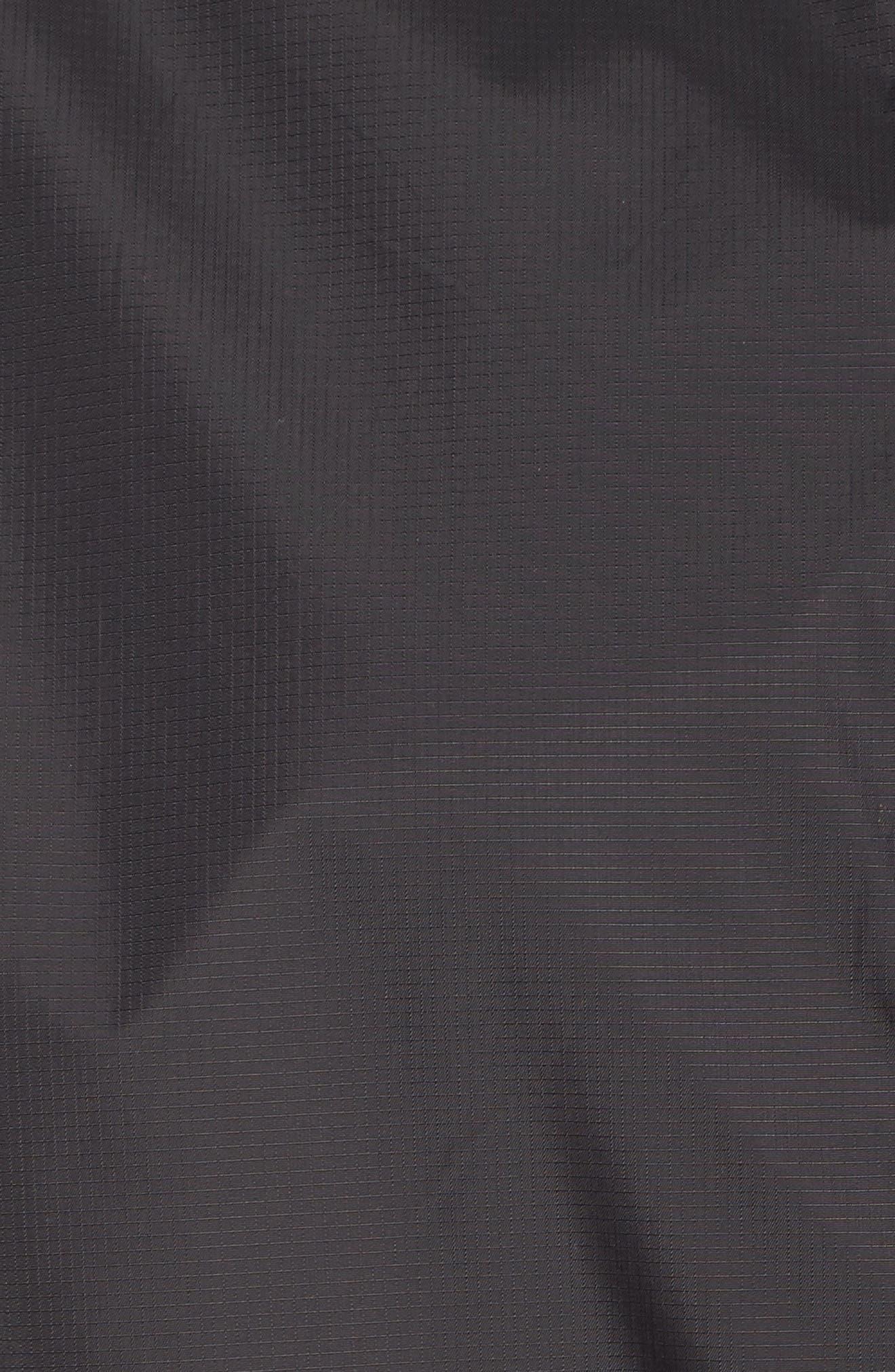 Packable Rain Jacket,                             Alternate thumbnail 8, color,                             BLACK