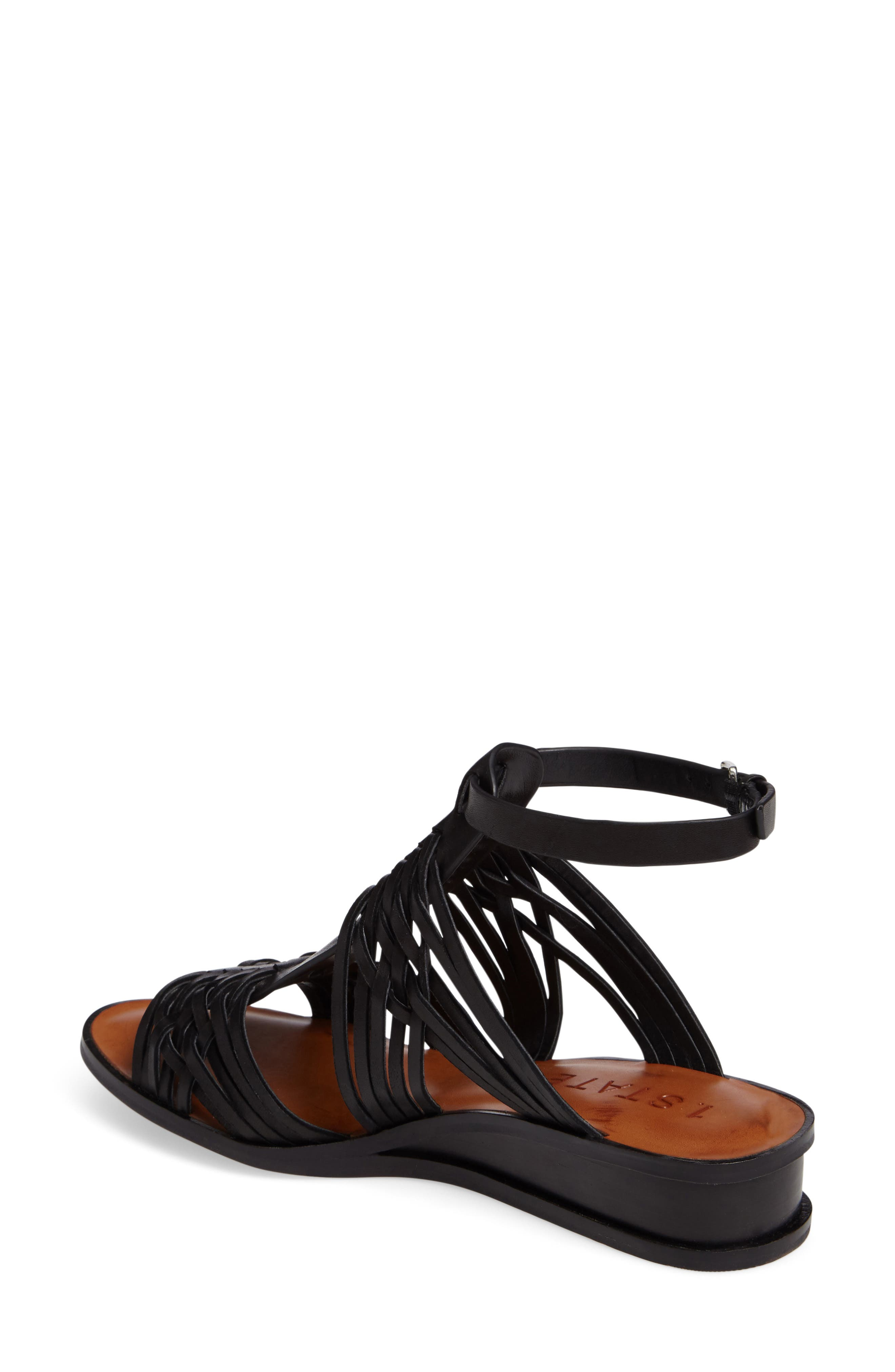 Maliyah Wedge Sandal,                             Alternate thumbnail 2, color,                             001