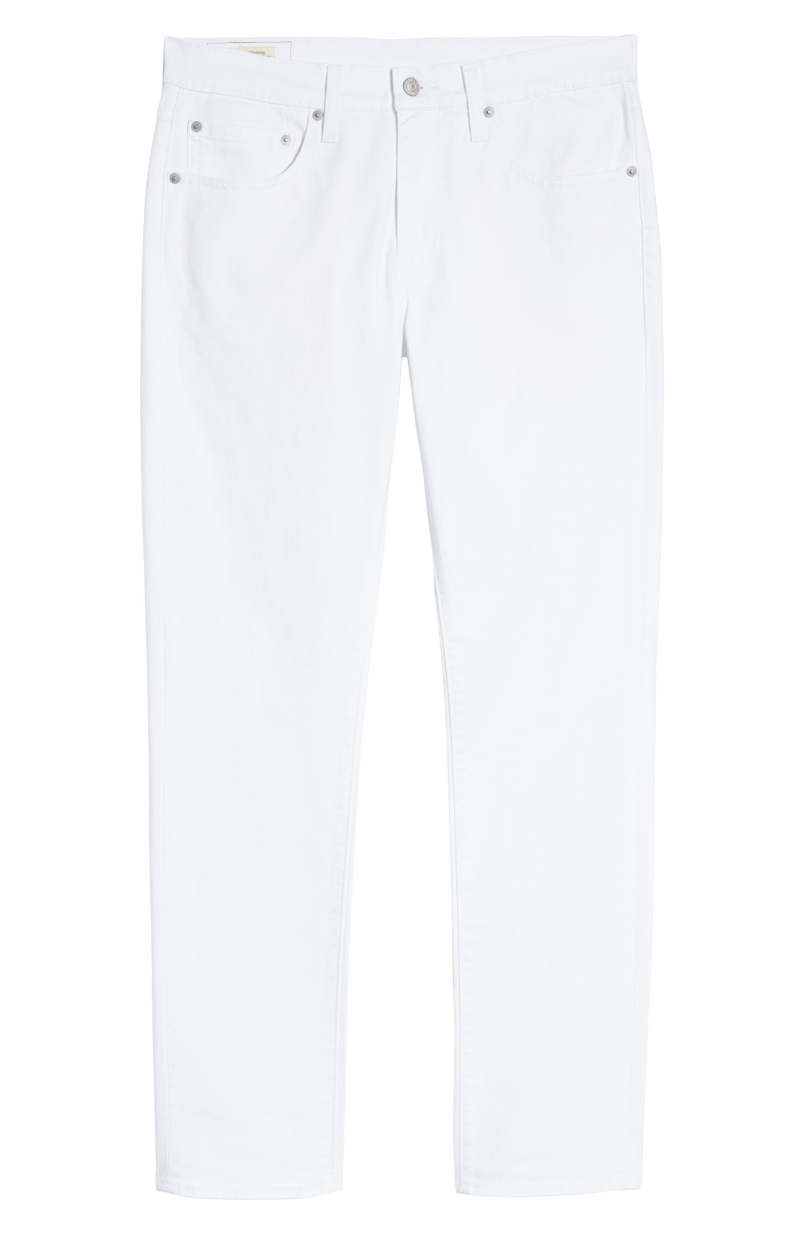 511<sup>™</sup> Slim Fit Jeans,                             Alternate thumbnail 6, color,                             WHITE BULL DENIM II
