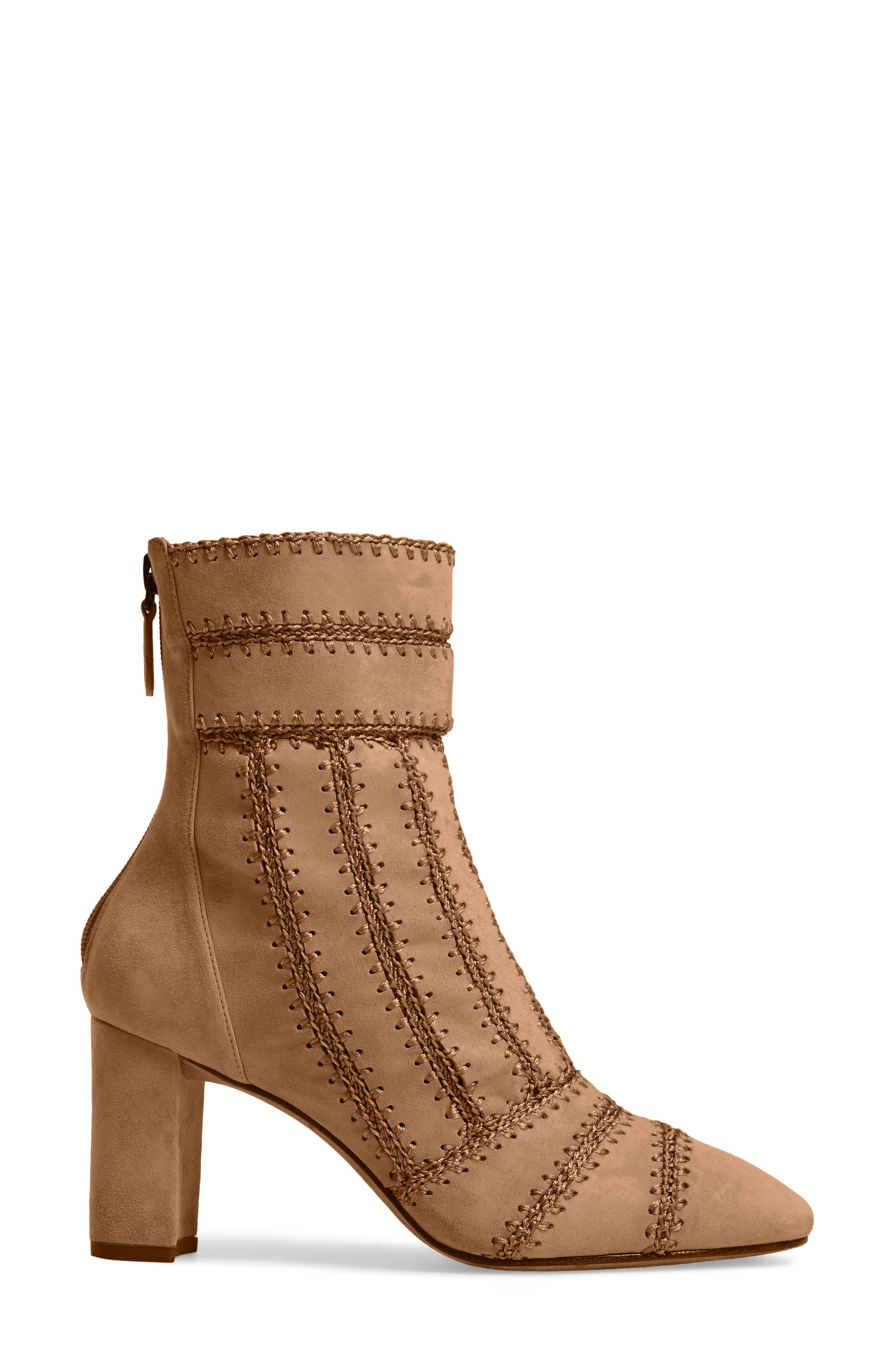 Beatrice Pieced Bootie,                             Alternate thumbnail 6, color,