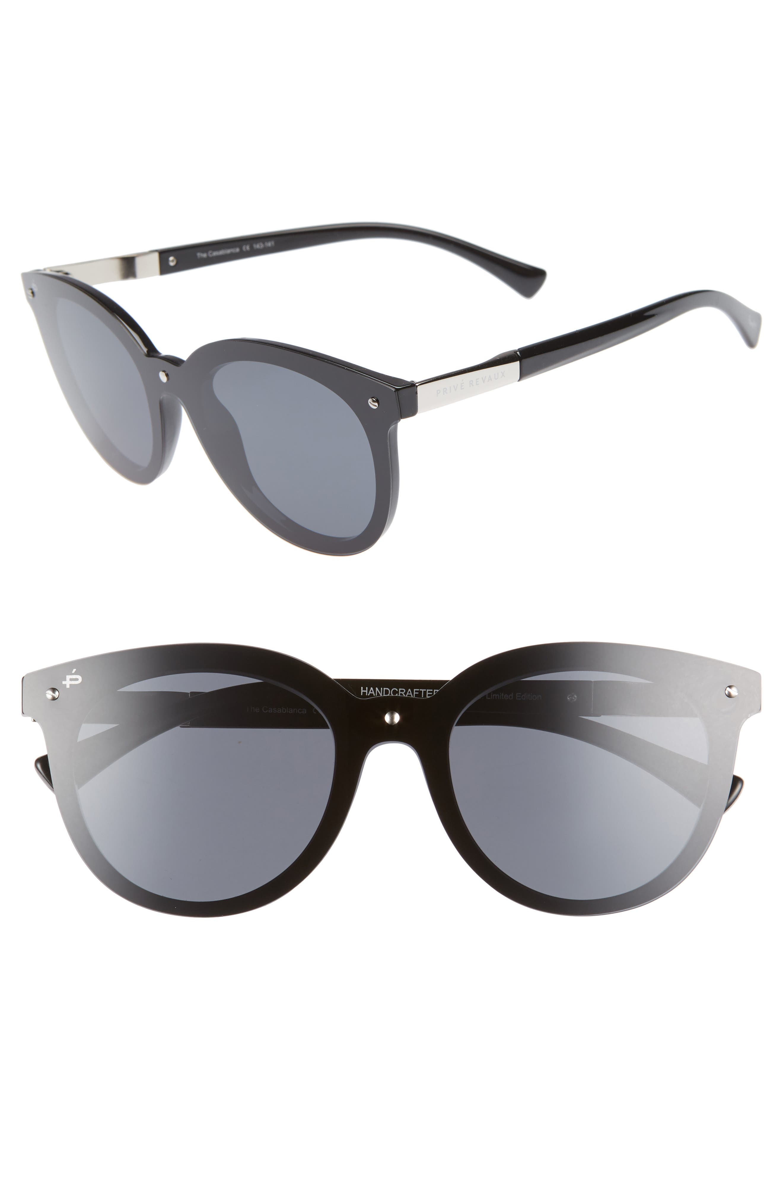 Privé Revaux The Casablanca 52mm Sunglasses,                         Main,                         color, 001