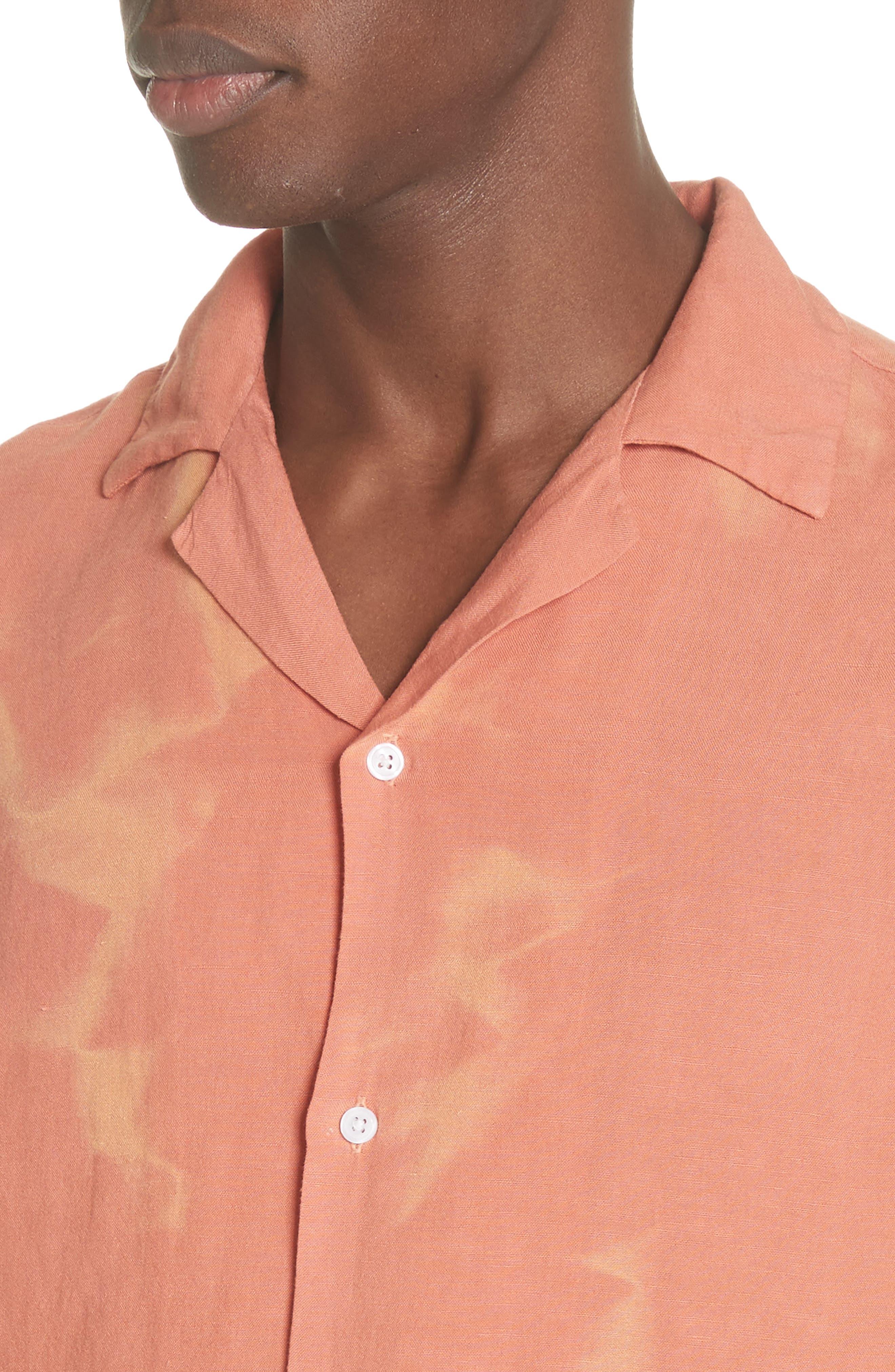 Canty Long Sleeve Camp Shirt,                             Alternate thumbnail 8, color,