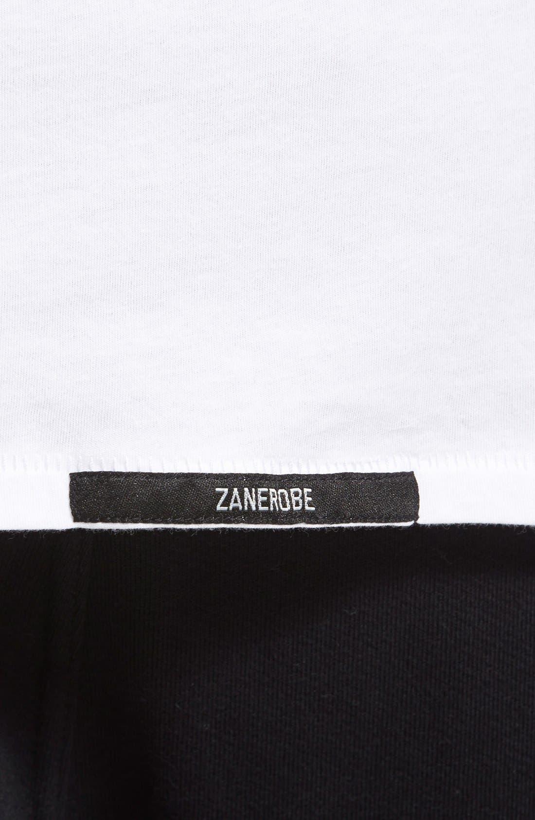 Flintlock Longline Long Sleeve T-Shirt,                             Alternate thumbnail 5, color,                             WHITE
