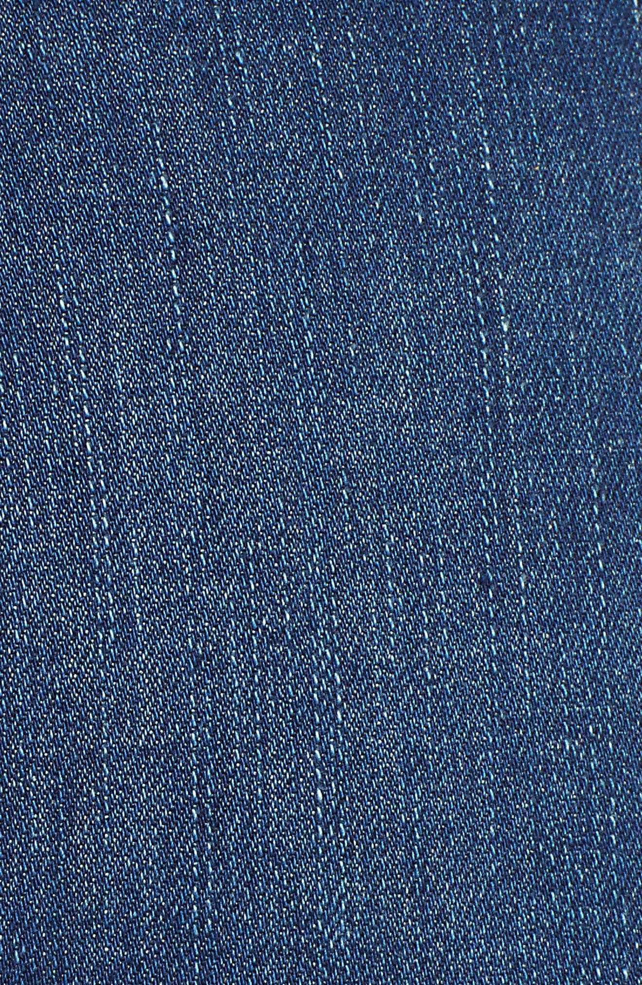 MADEWELL,                             9-Inch Skinny Jeans Raw Hem Edition,                             Alternate thumbnail 6, color,                             PALOMA