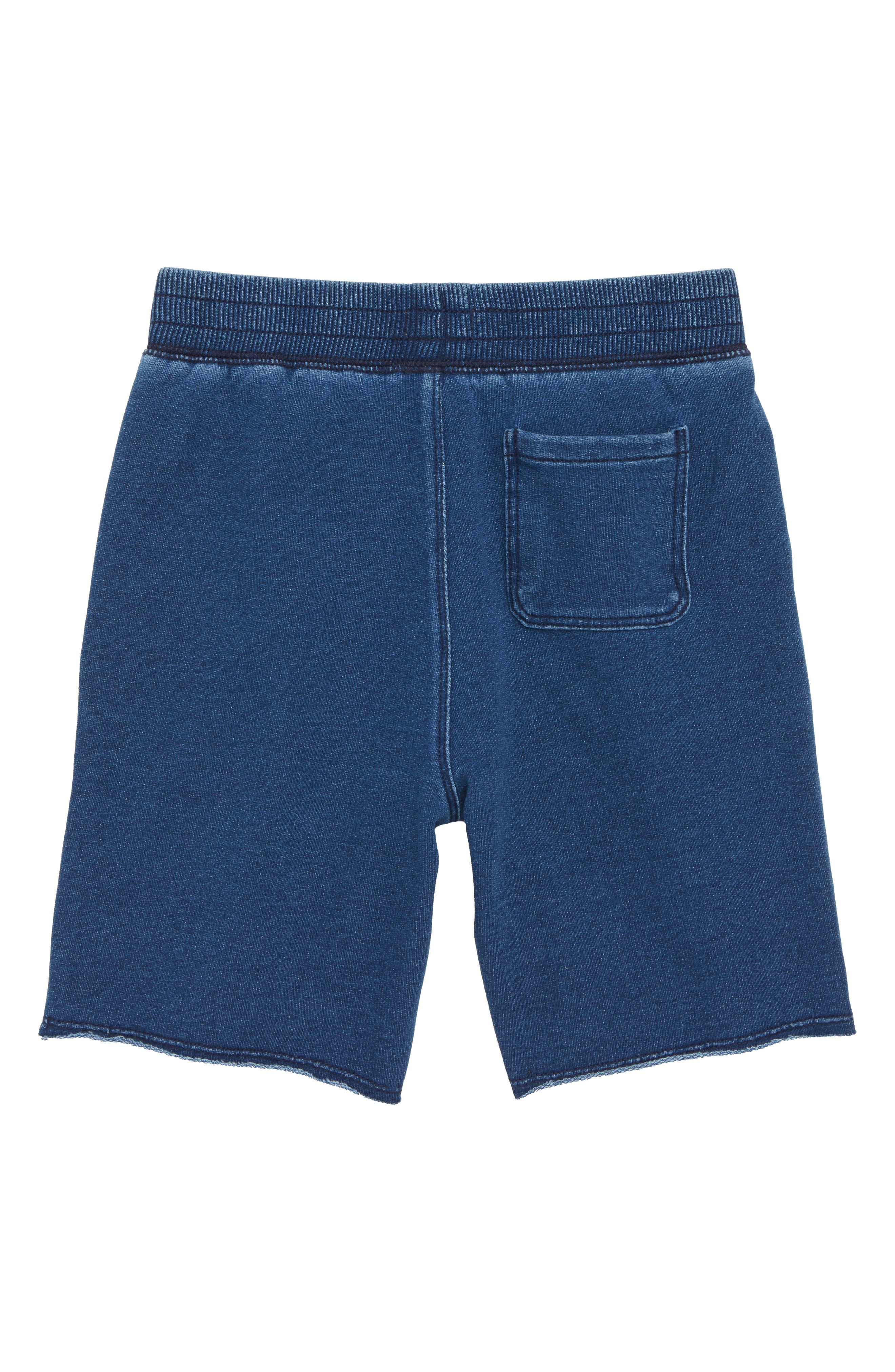 Stonewashed French Terry Shorts,                             Alternate thumbnail 2, color,                             420