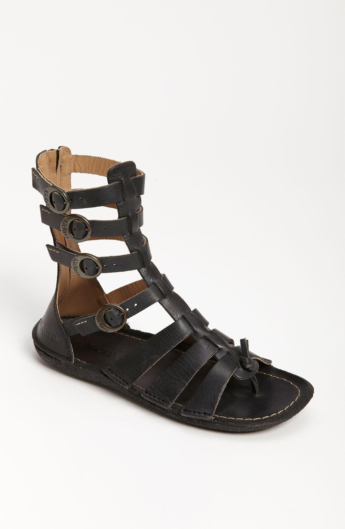 'Pepita' Sandal, Main, color, 001