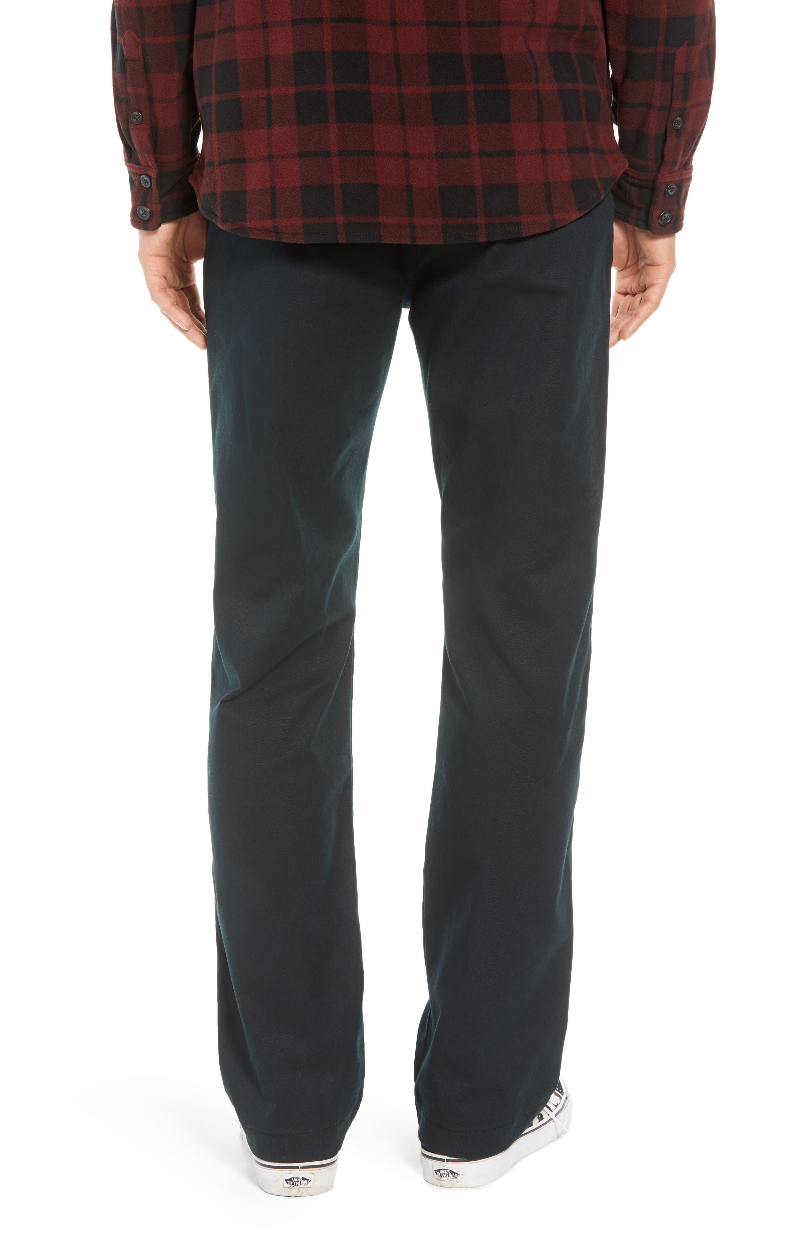 Authentic Chino Pro Pants,                             Alternate thumbnail 2, color,                             BLACK