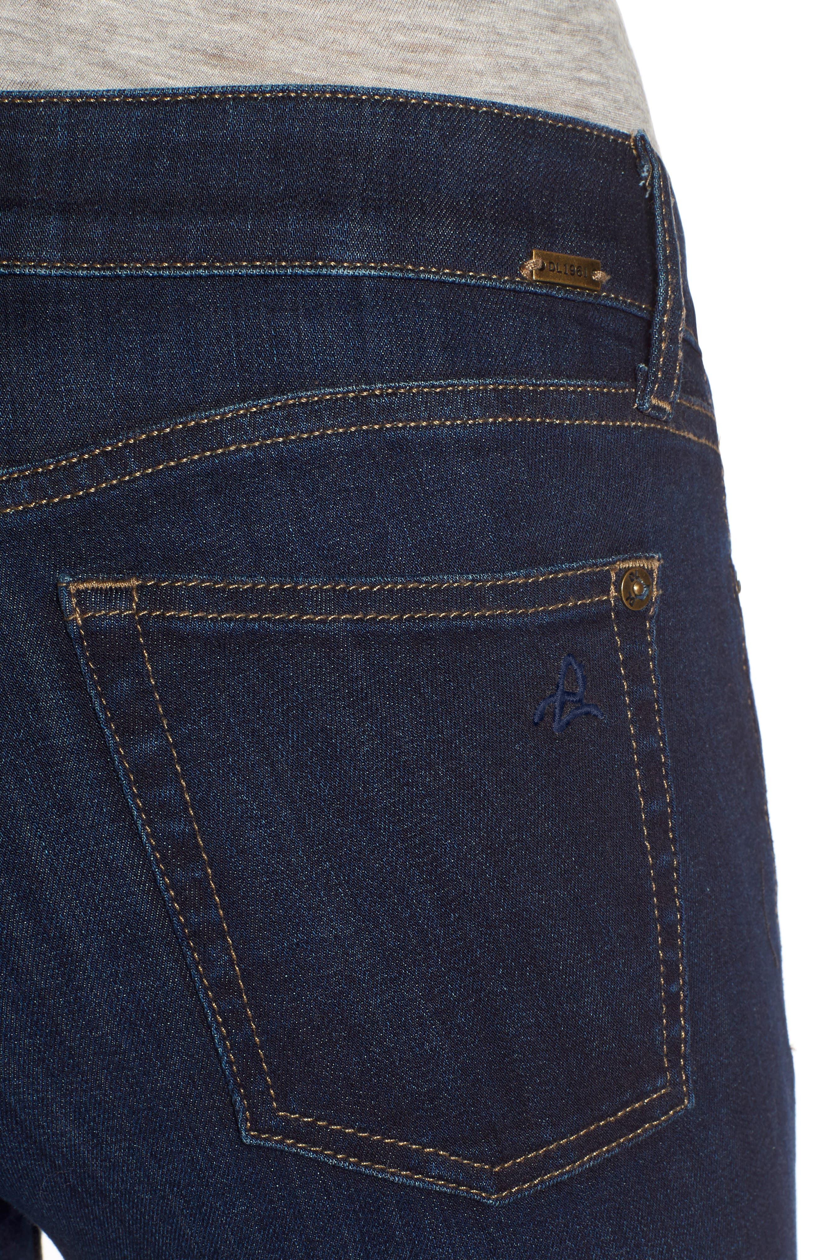 Florence Instasculpt Skinny Jeans,                             Alternate thumbnail 6, color,                             PULSE