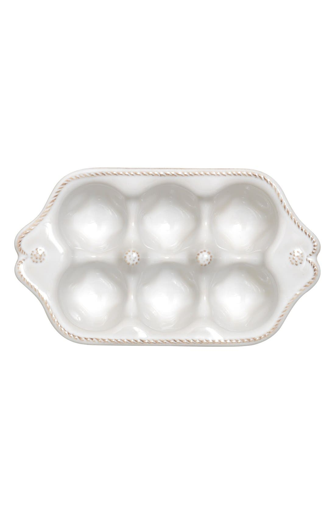 'Berry and Thread' Small Egg Crate,                             Alternate thumbnail 4, color,                             WHITEWASH